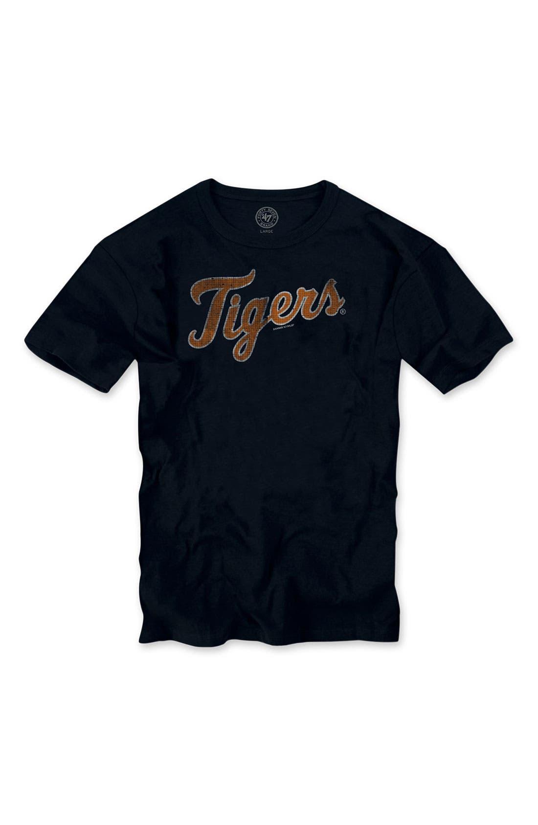 'Chicago Cubs' Regular Fit Crewneck T-Shirt,                             Main thumbnail 14, color,