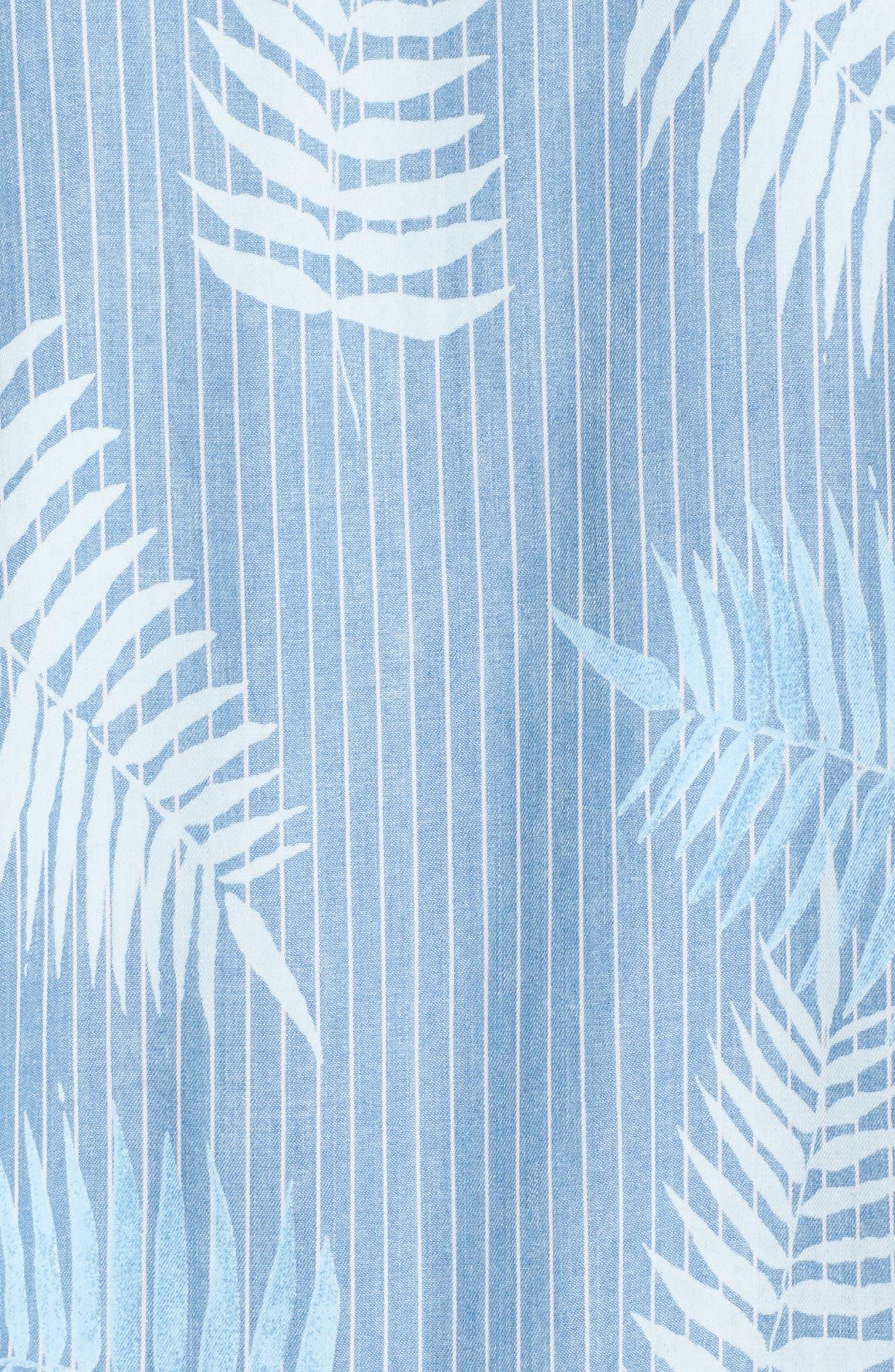 Tropical Breeze Bomber Jacket,                             Alternate thumbnail 7, color,                             BLUE TROPICAL BREEZE