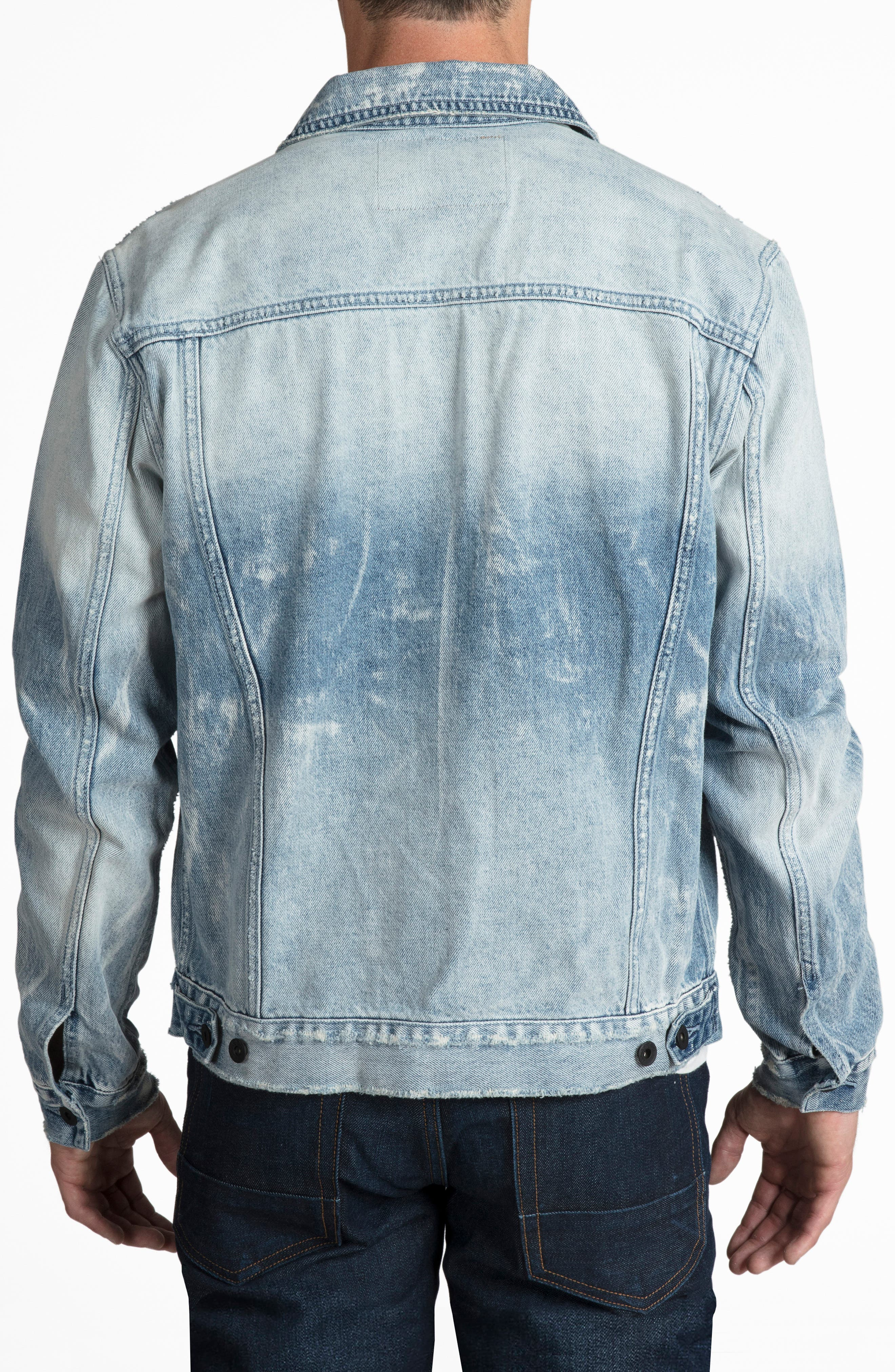 Denim Jacket,                             Alternate thumbnail 2, color,                             490