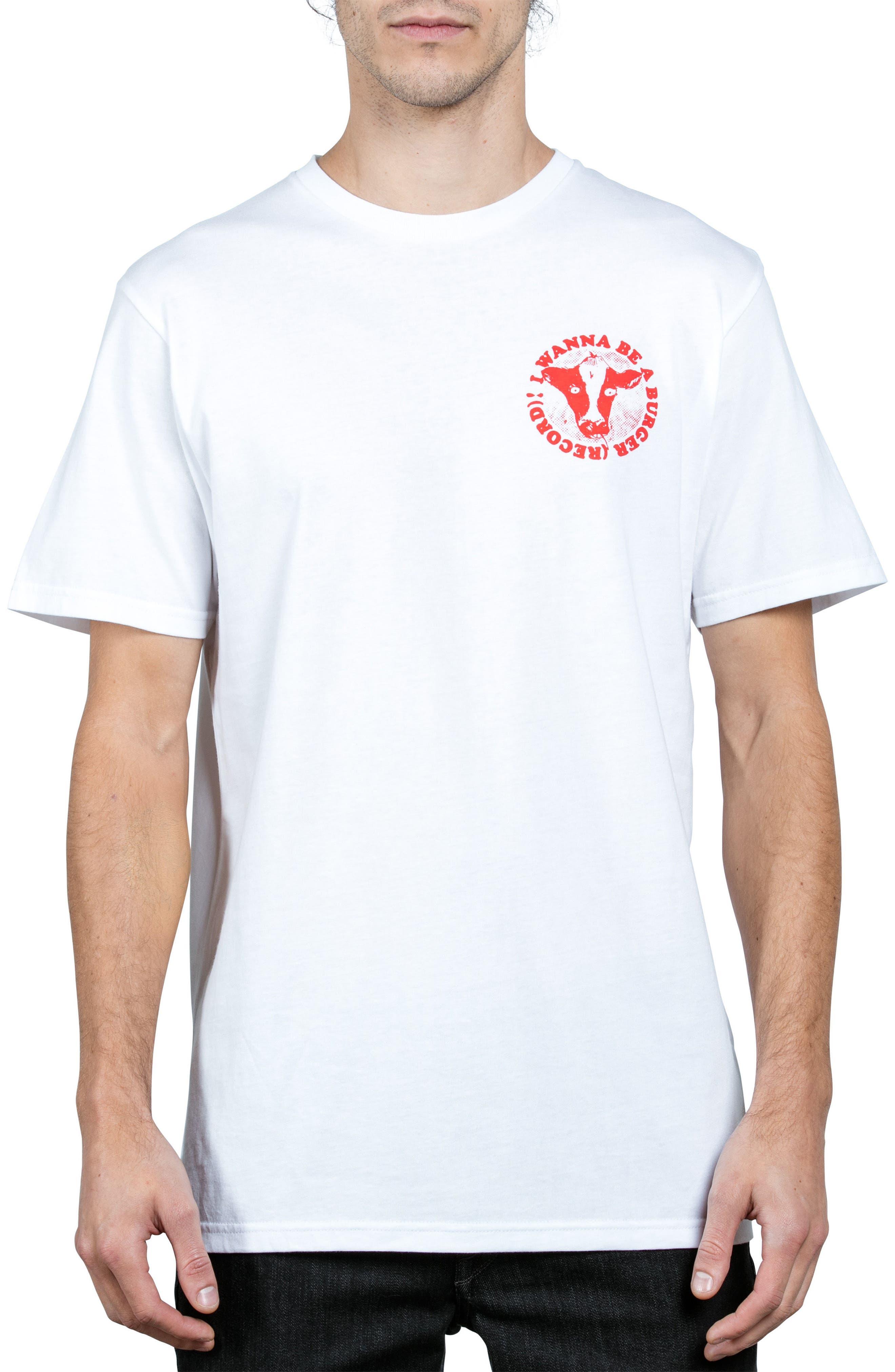 x Burger Records Wannabe T-Shirt,                             Main thumbnail 1, color,                             100