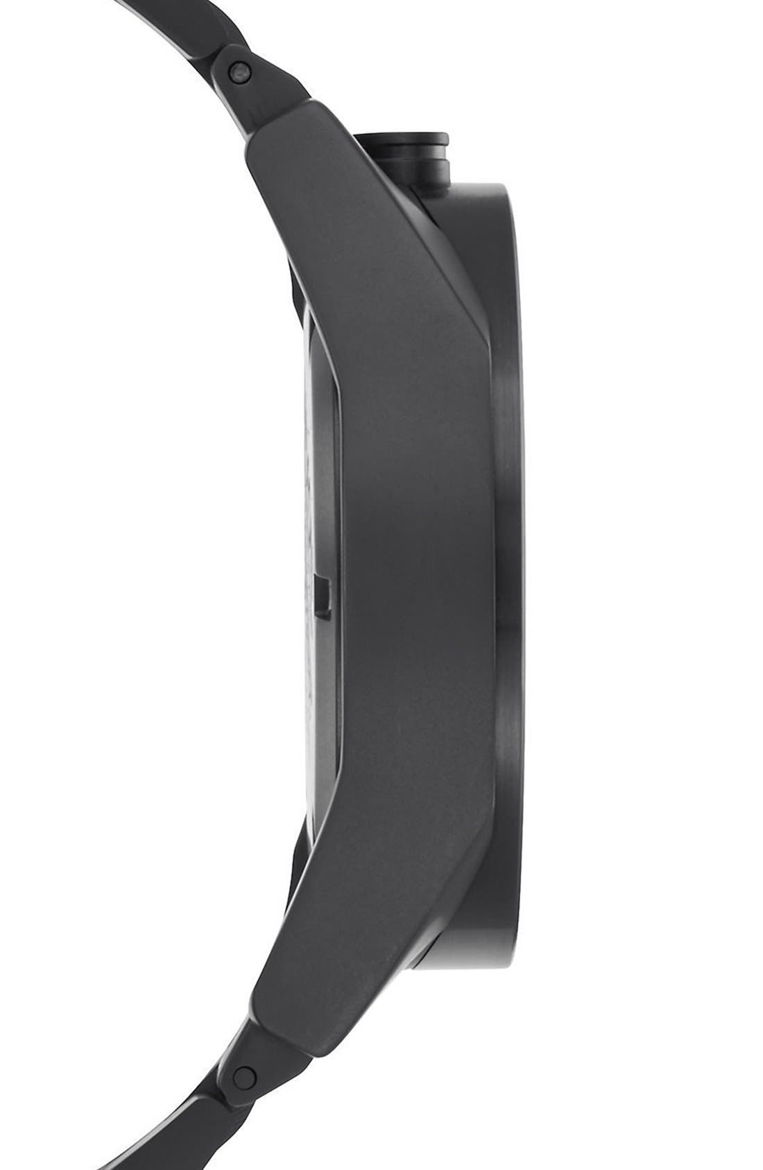 'Genesis' One-Hand Bracelet Watch, 43mm,                             Alternate thumbnail 3, color,                             001