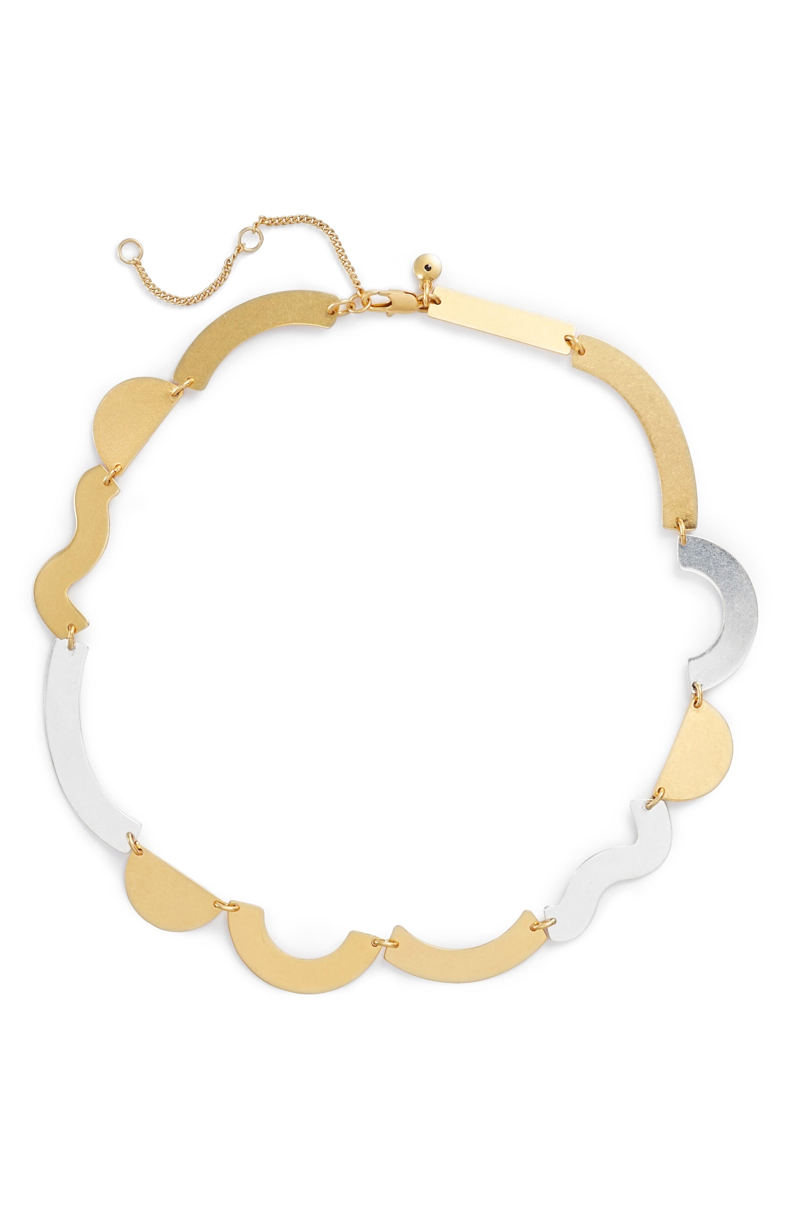 Flatform Statement Necklace,                         Main,                         color,
