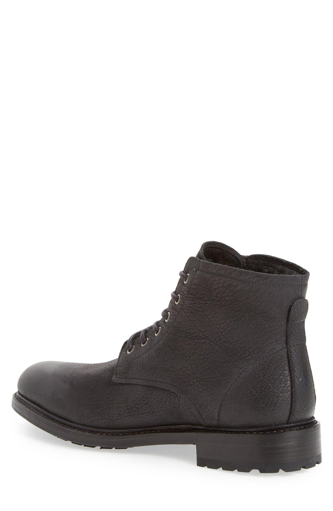 'KM32' Plain Toe Boot,                             Alternate thumbnail 2, color,                             001