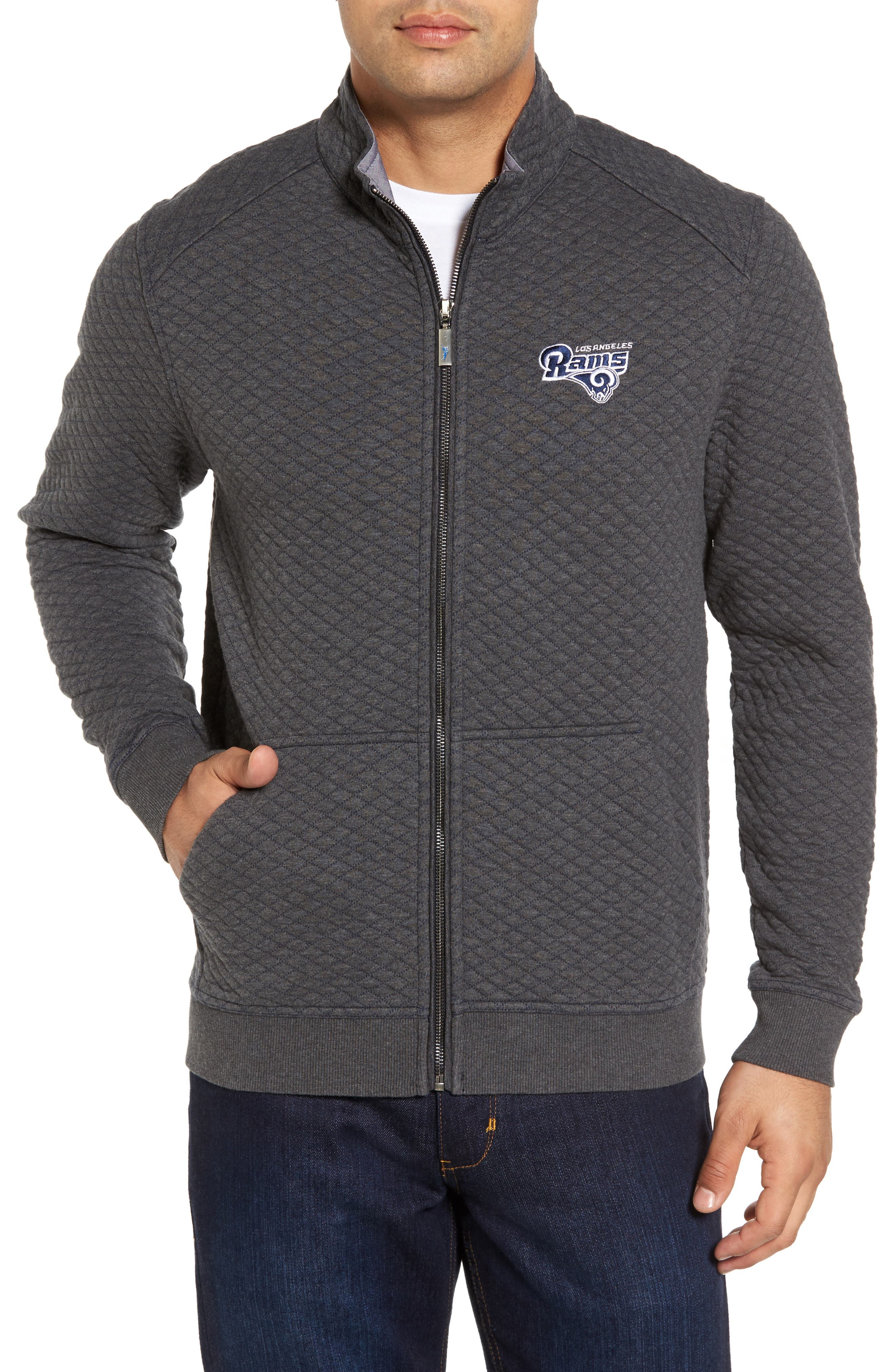 NFL Quiltessential Full Zip Sweatshirt,                             Main thumbnail 24, color,