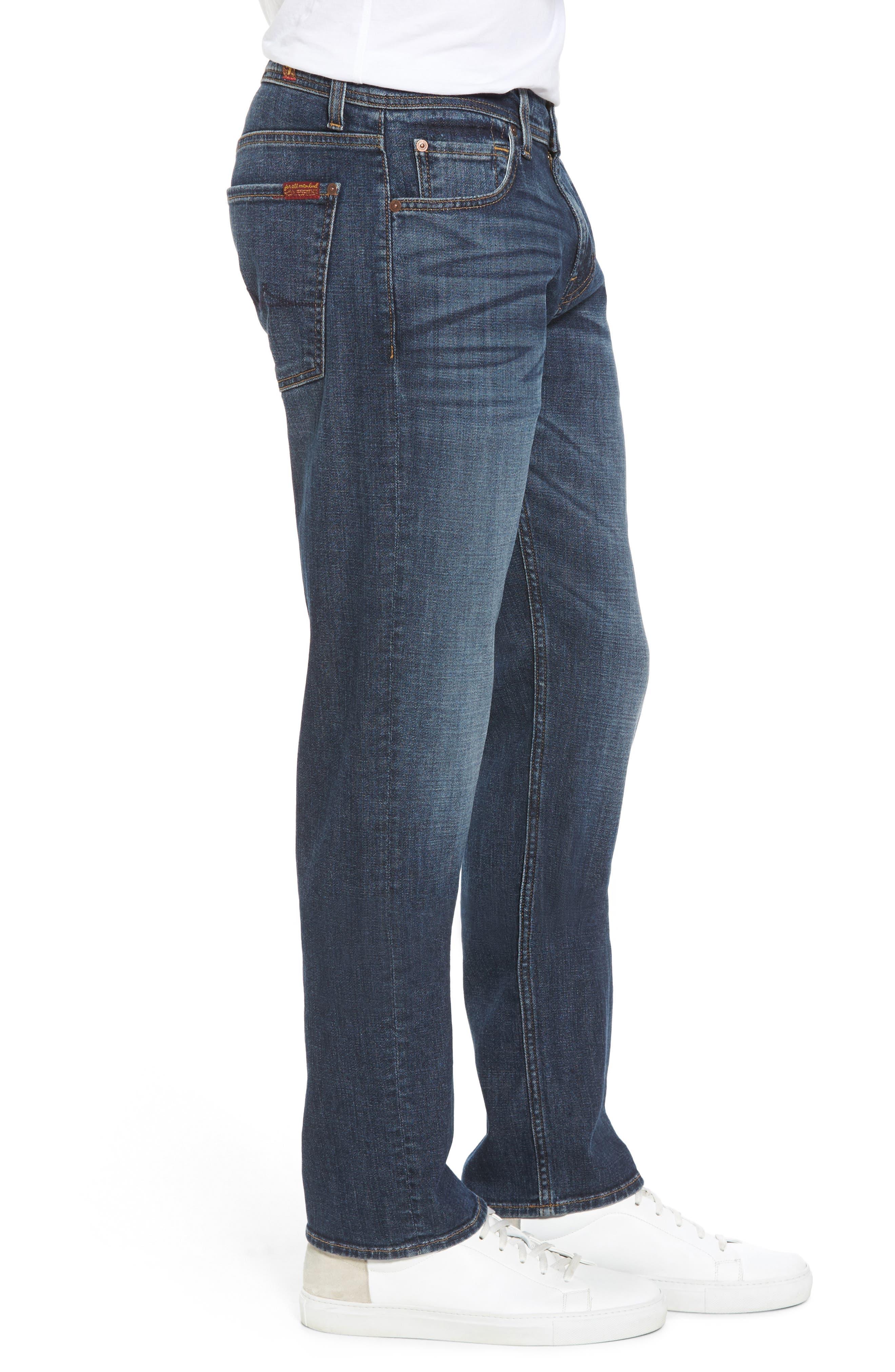 The Standard Straight Leg Jeans,                             Alternate thumbnail 3, color,                             408