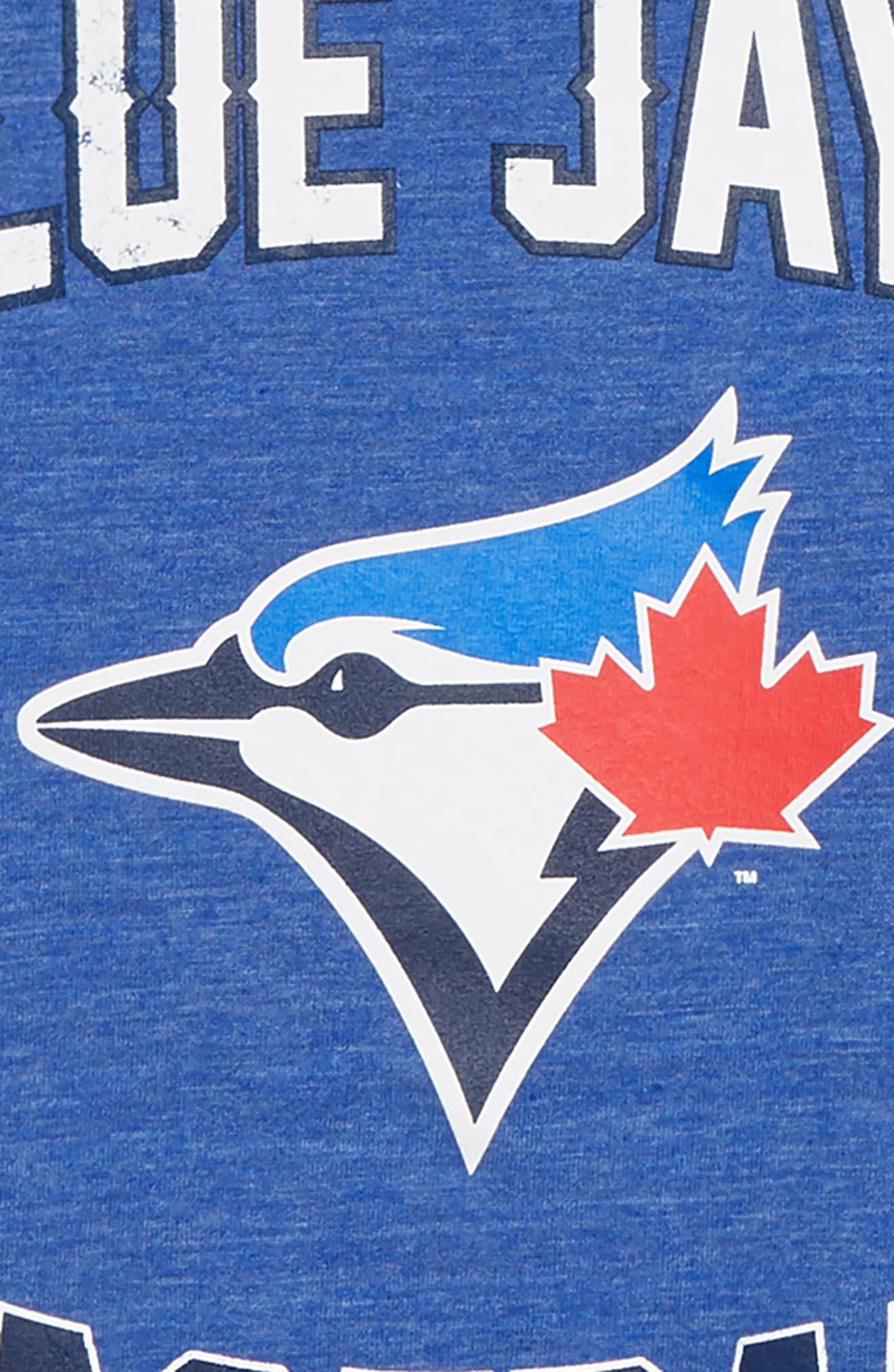 Toronto Blue Jays Triple Play T-Shirt,                             Alternate thumbnail 2, color,                             461