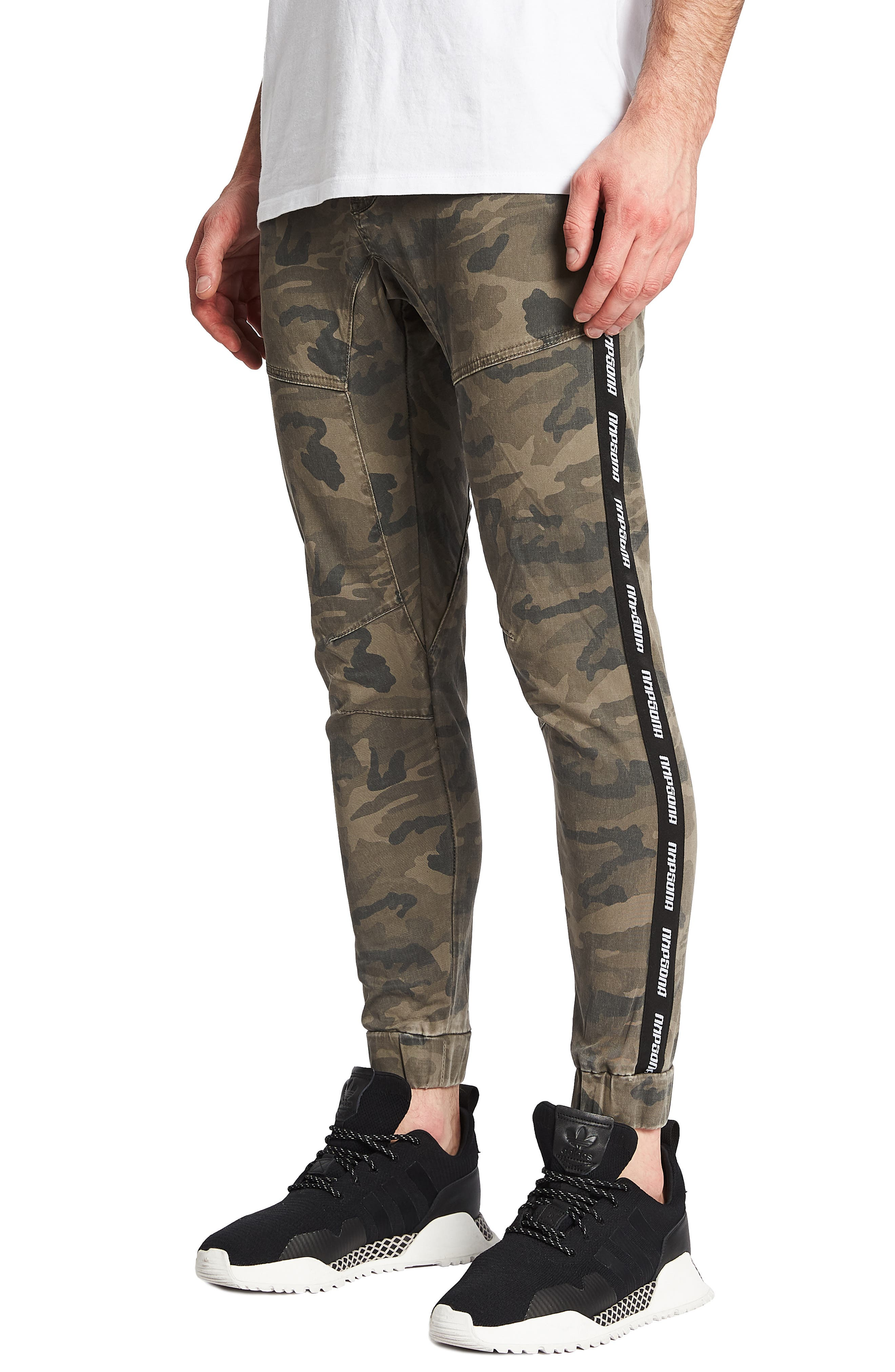 Firebrand Slim Fit Pants,                             Alternate thumbnail 3, color,                             AIRWOLF CAMO