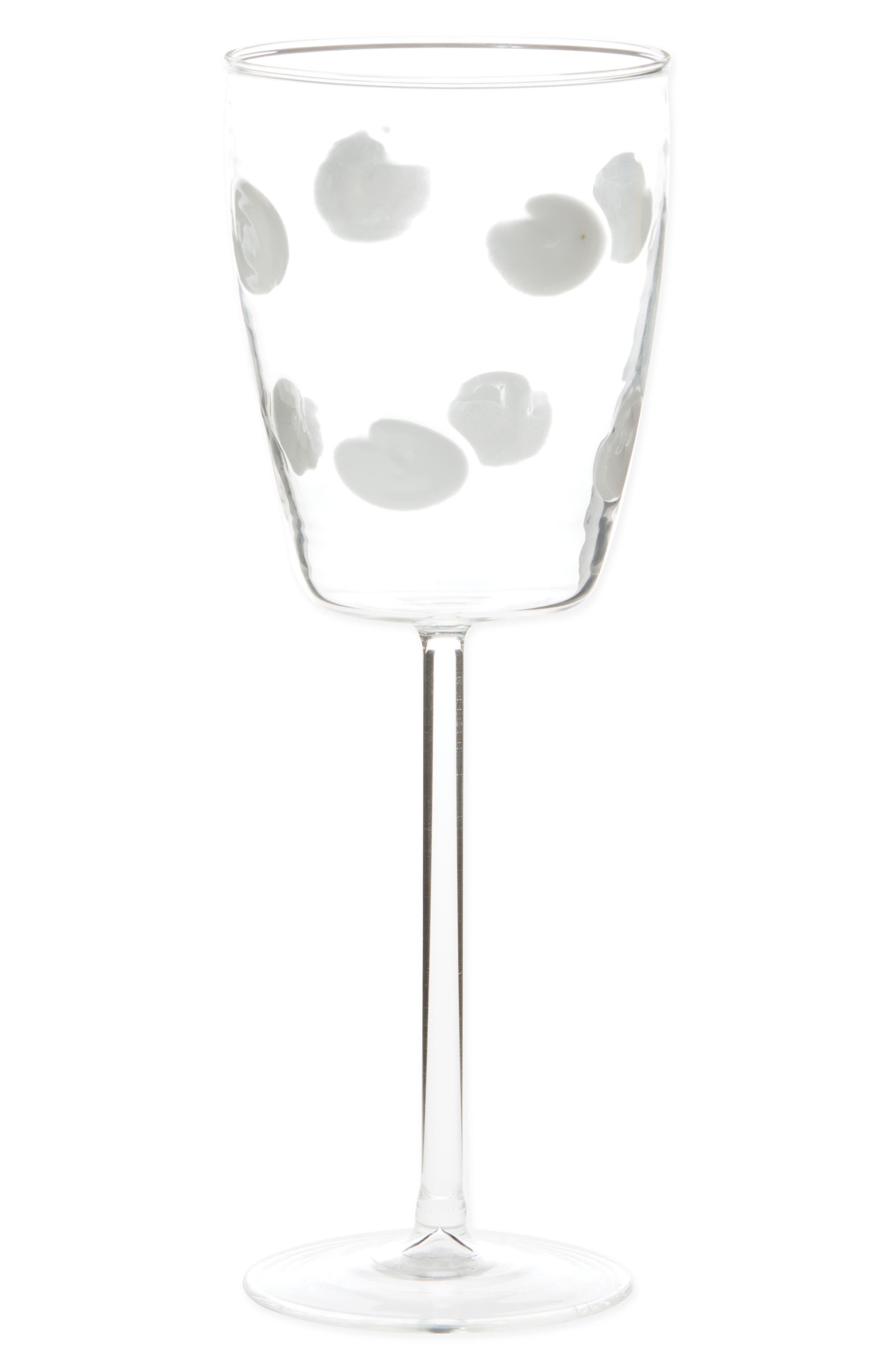Drop Wine Glass,                         Main,                         color, WHITE