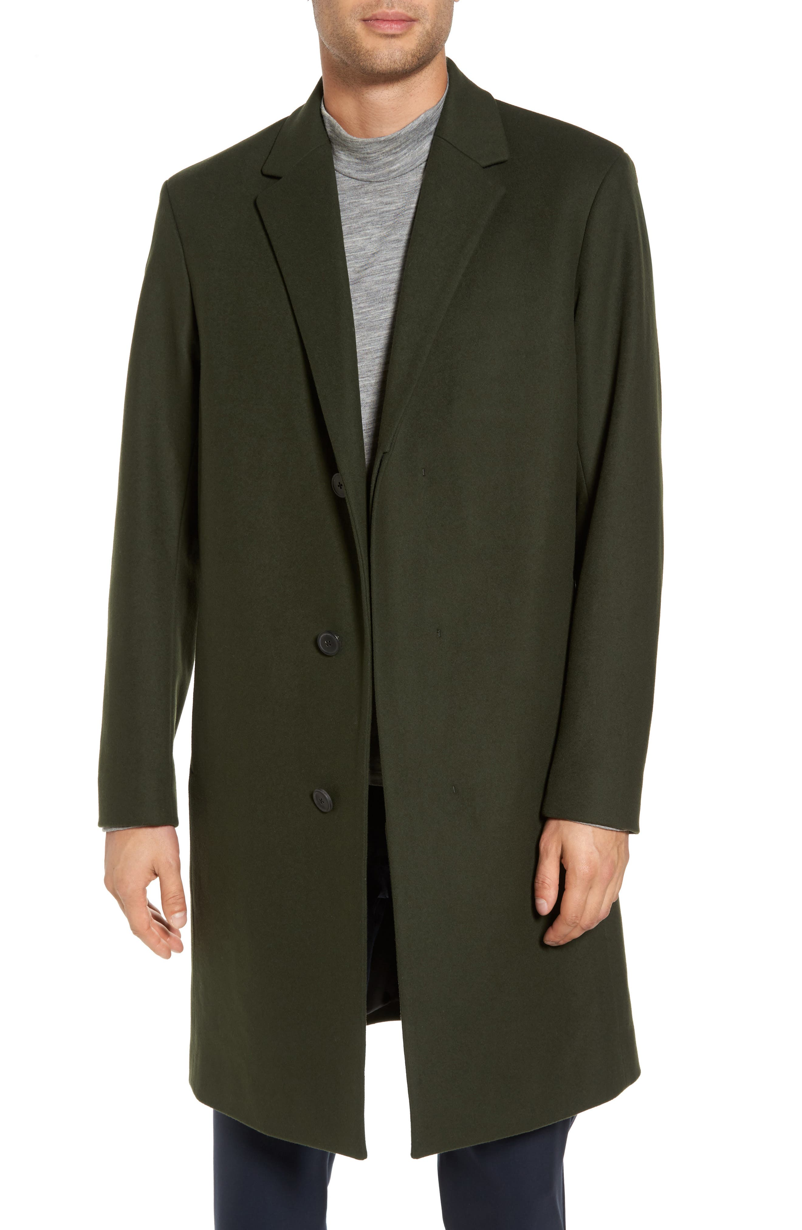 Bower Melton Wool Blend Topcoat,                             Main thumbnail 2, color,