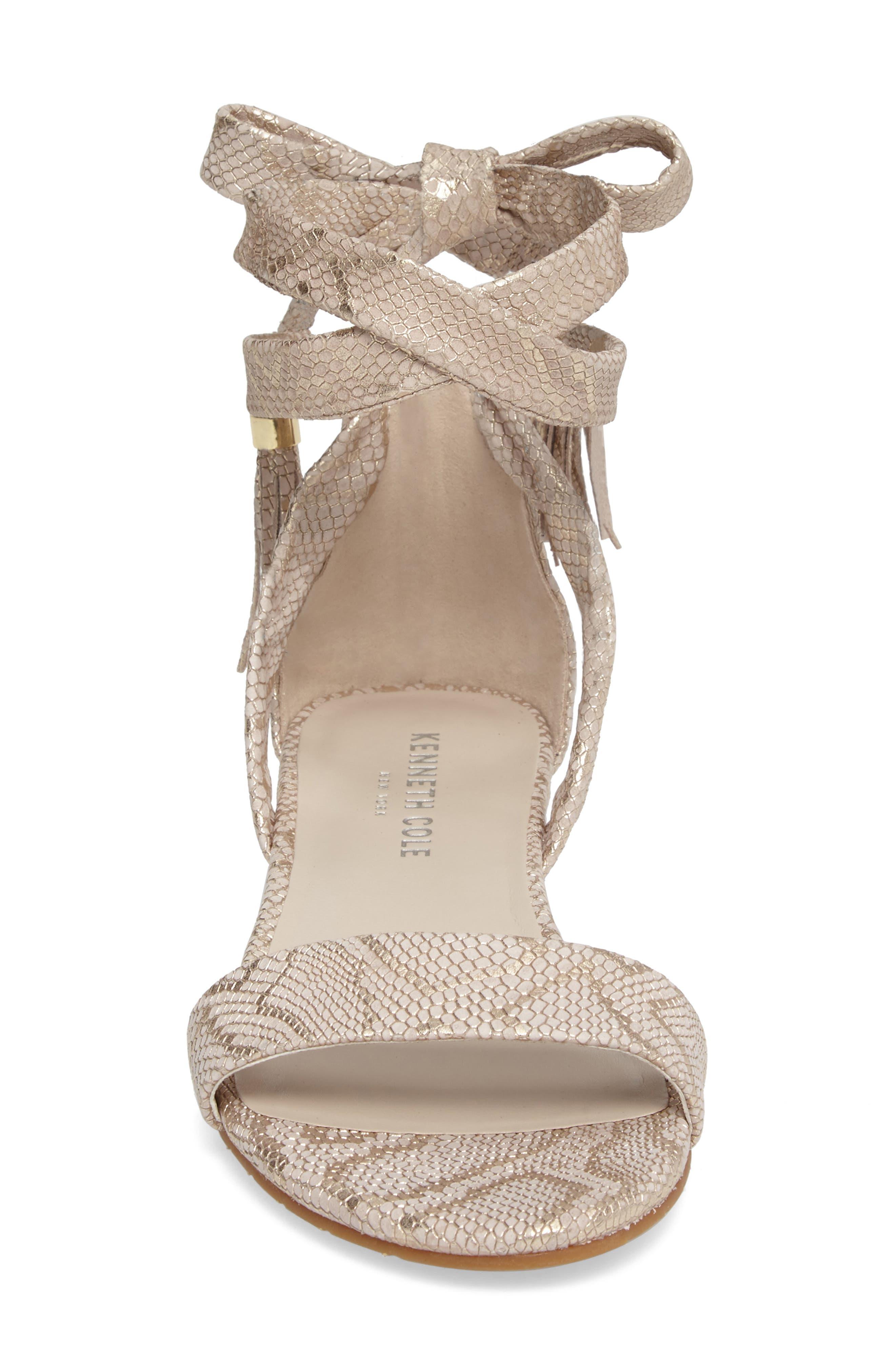 Valen Tassel Lace-Up Sandal,                             Alternate thumbnail 46, color,