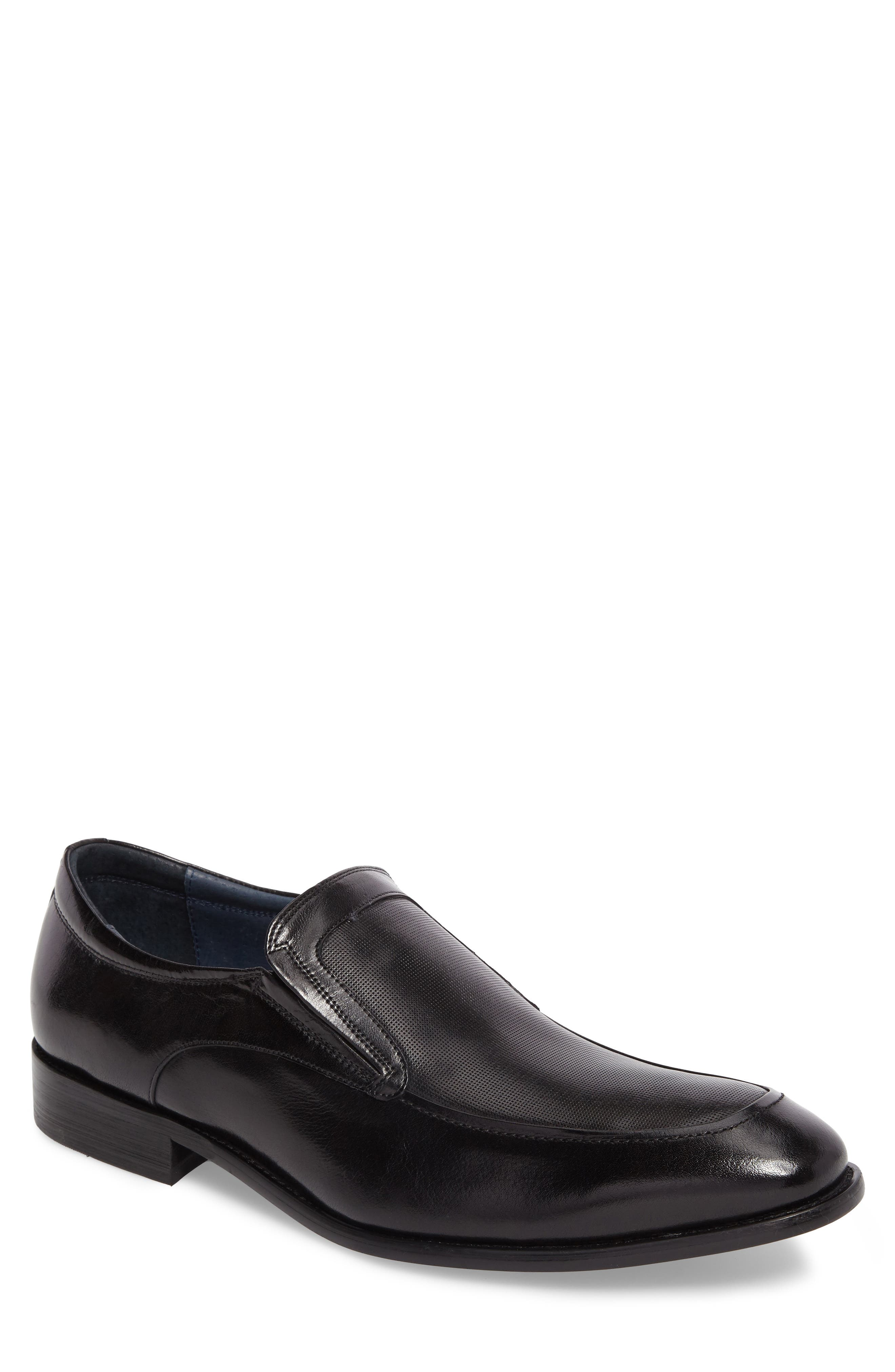 Jace Embossed Apron Toe Loafer,                         Main,                         color, 001