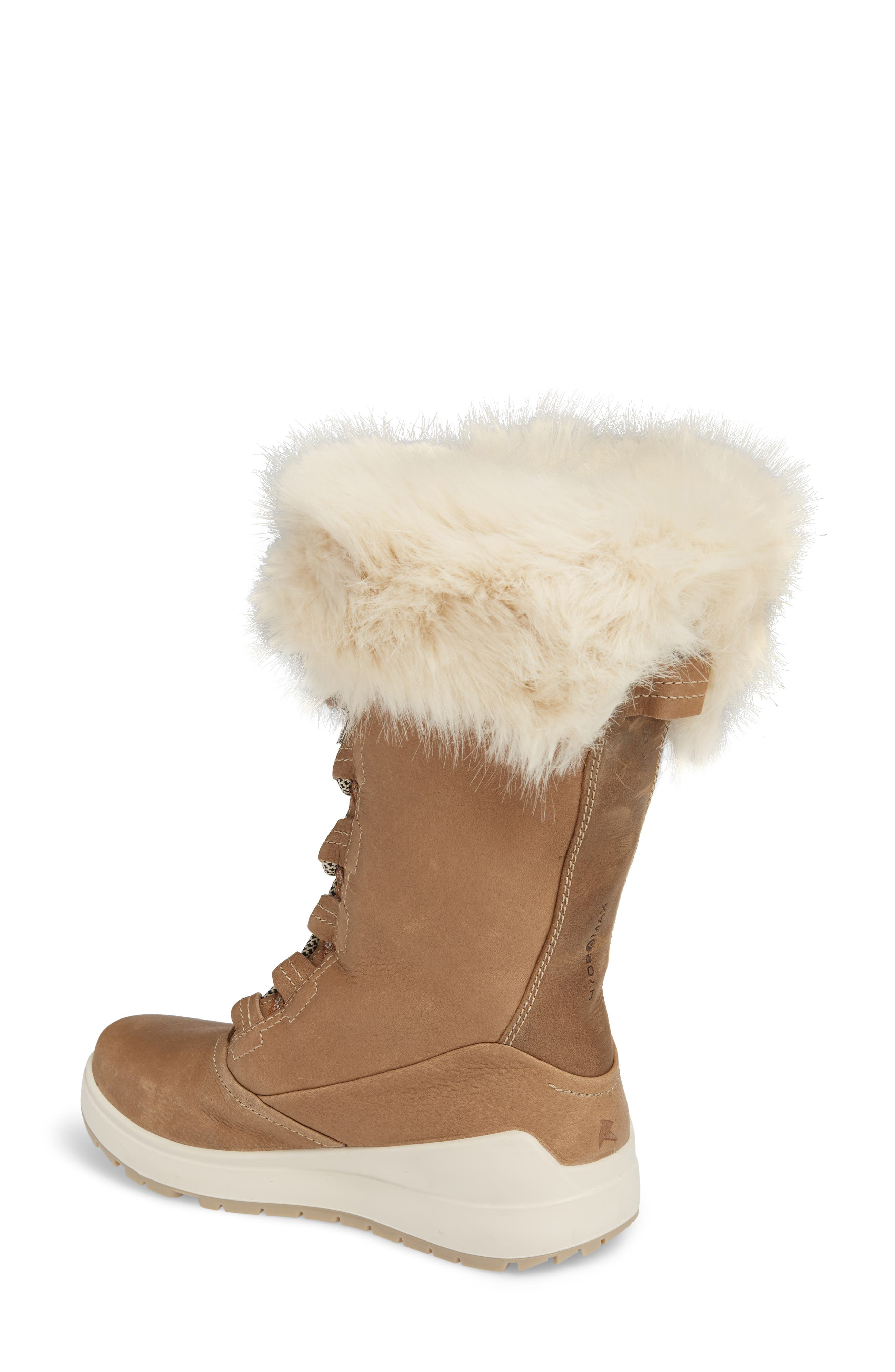 Noyce Siberia Hydromax Water Resistant Winter Boot with Faux Fur Trim,                             Alternate thumbnail 4, color,