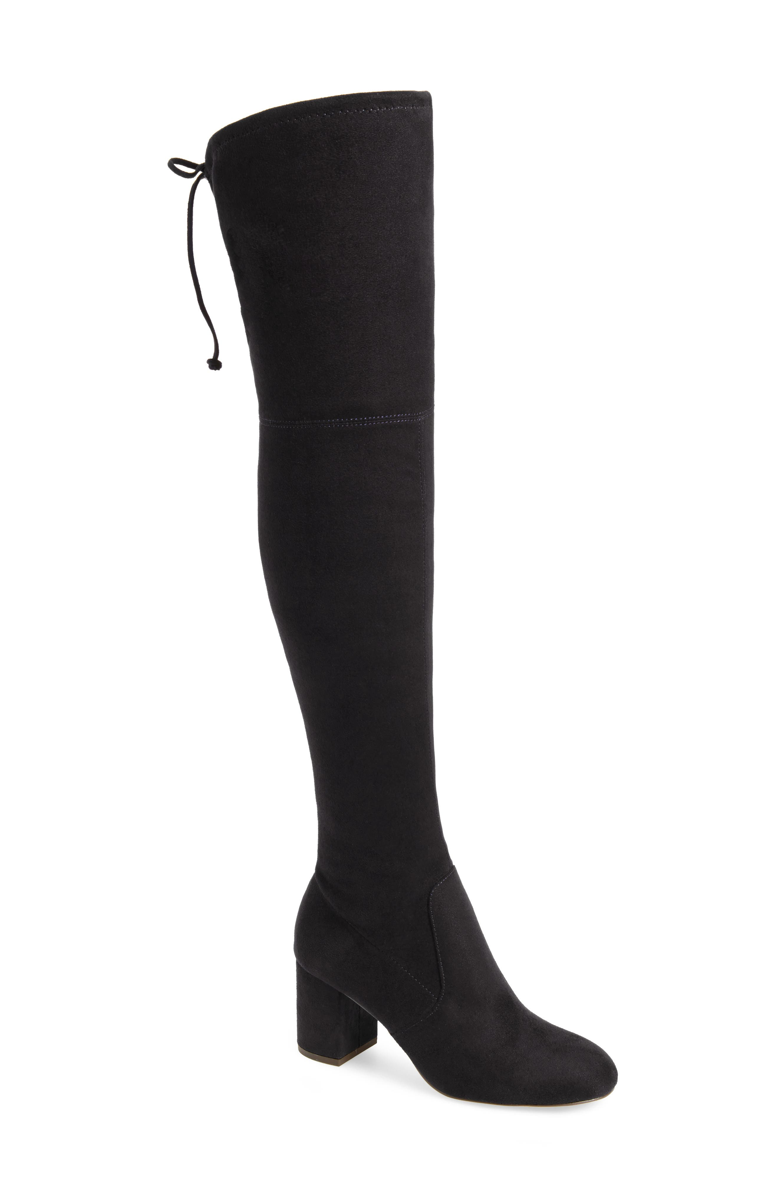 Owen Over the Knee Boot,                             Main thumbnail 1, color,                             001