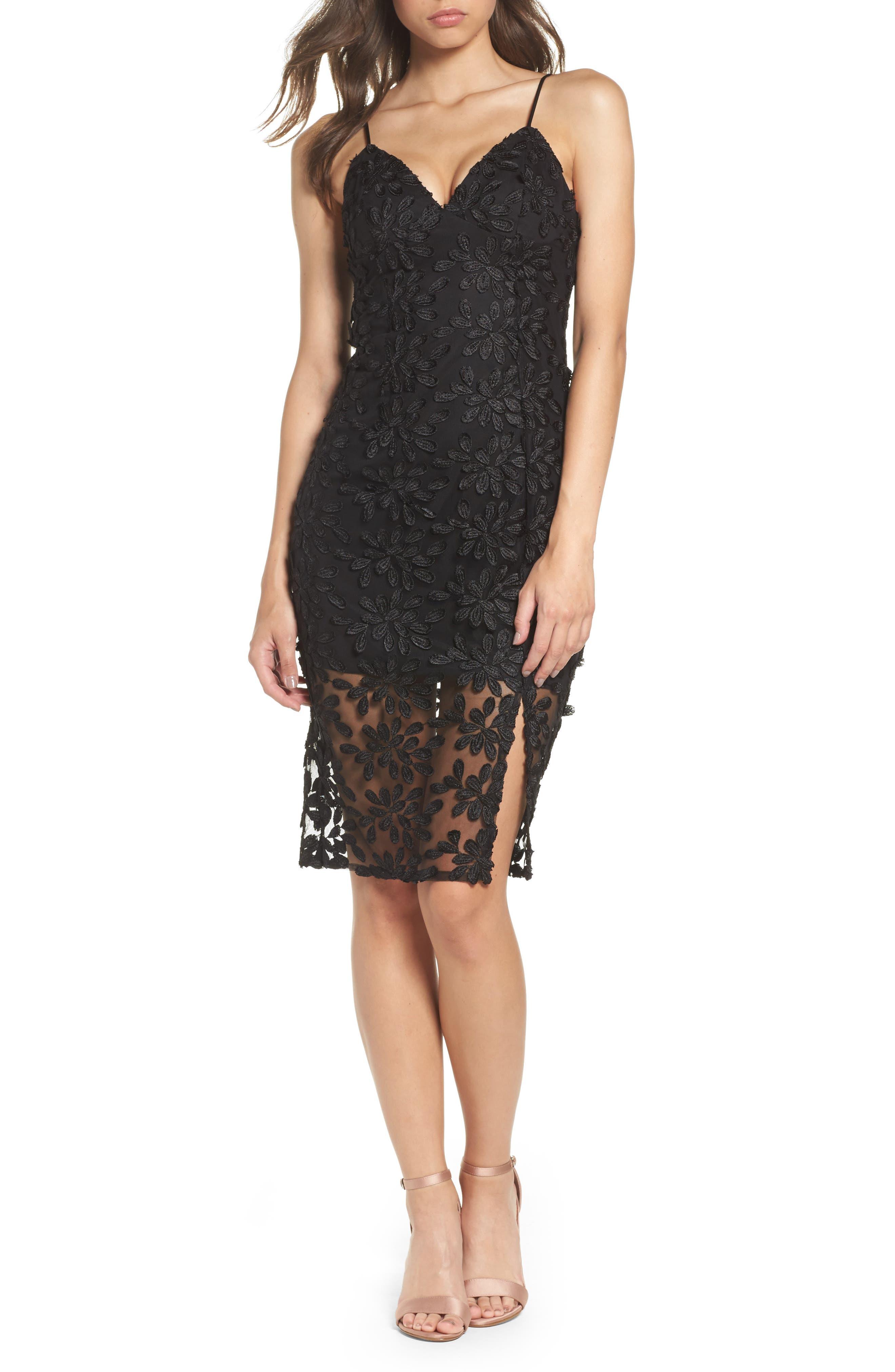 Fiona Lace Dress,                             Main thumbnail 1, color,                             001