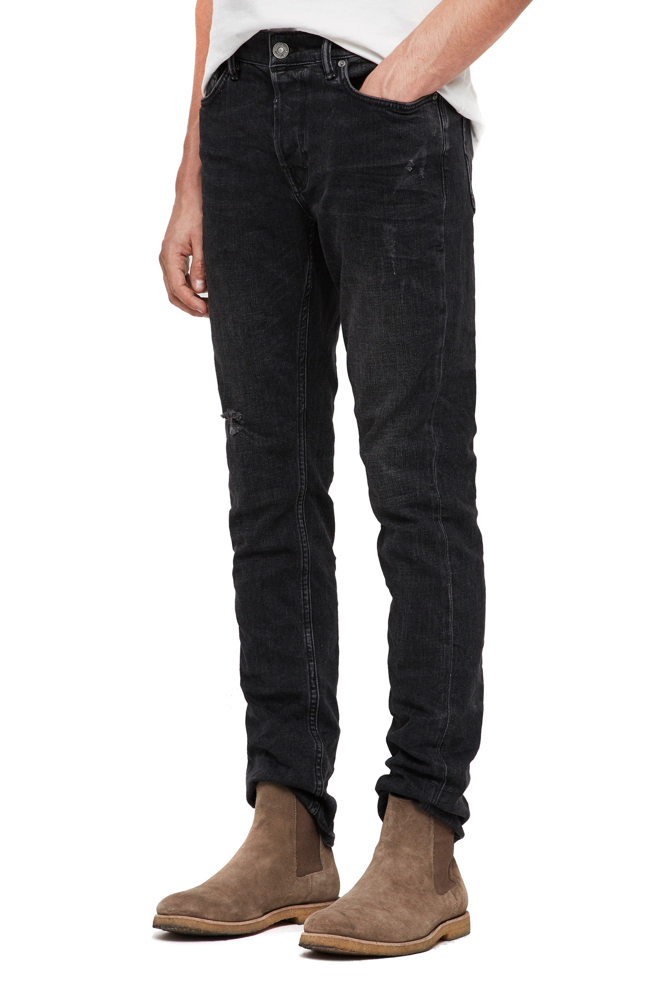 Rex Slim Fit Straight Leg Jeans,                             Alternate thumbnail 3, color,                             005