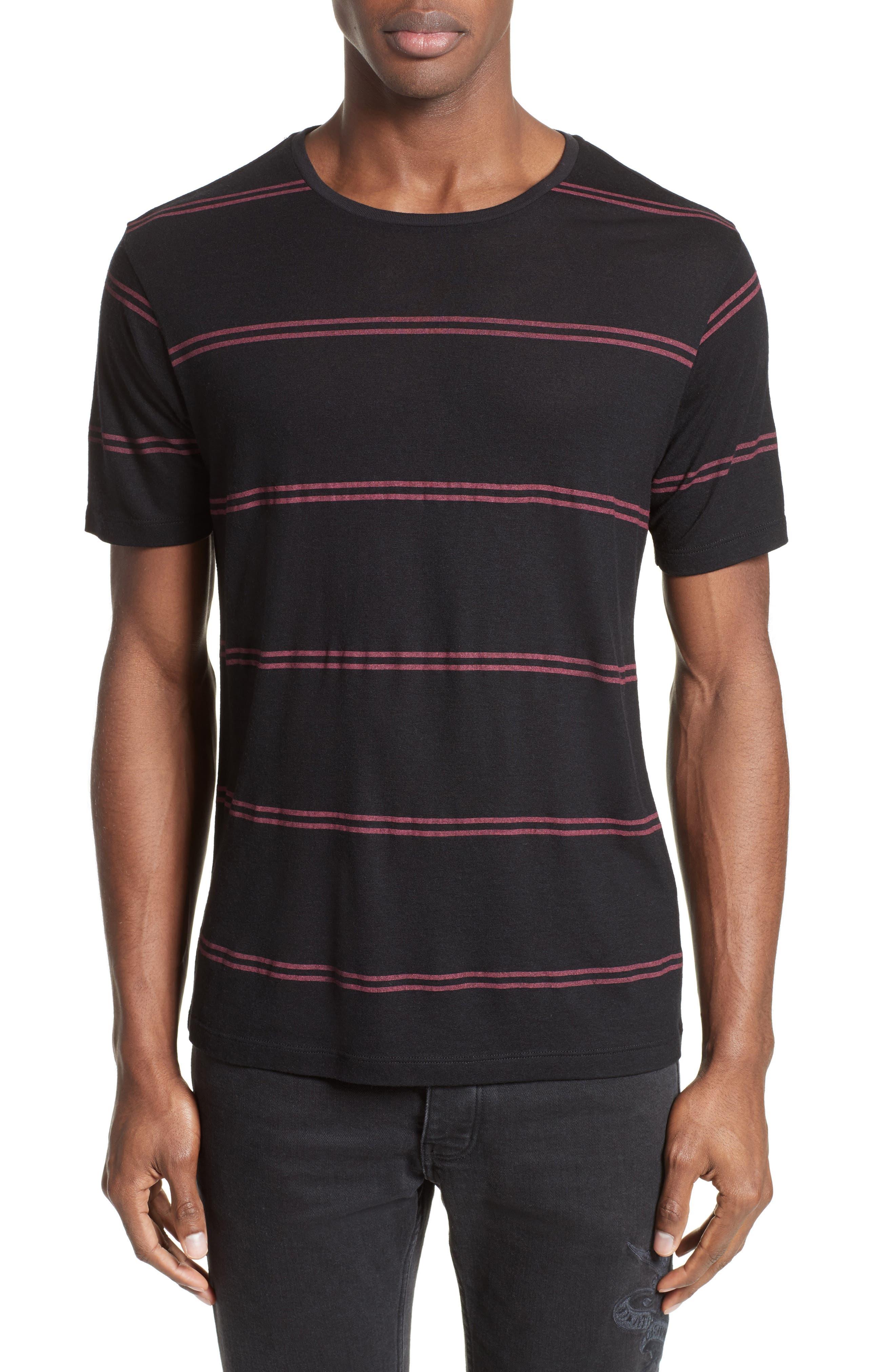 Stripe T-Shirt,                             Main thumbnail 1, color,                             001