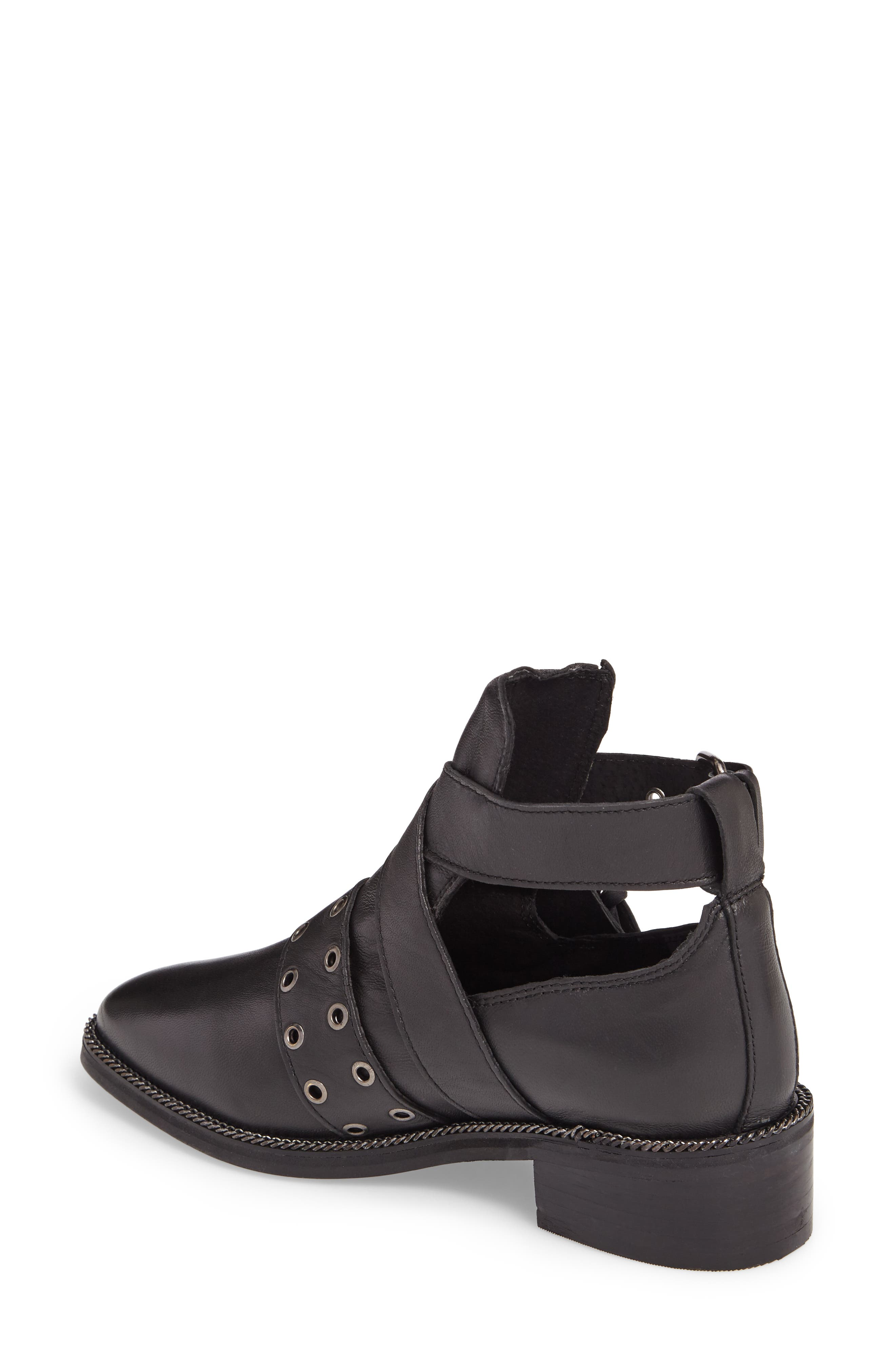 Adrian Cutout Ankle Boot,                             Alternate thumbnail 2, color,