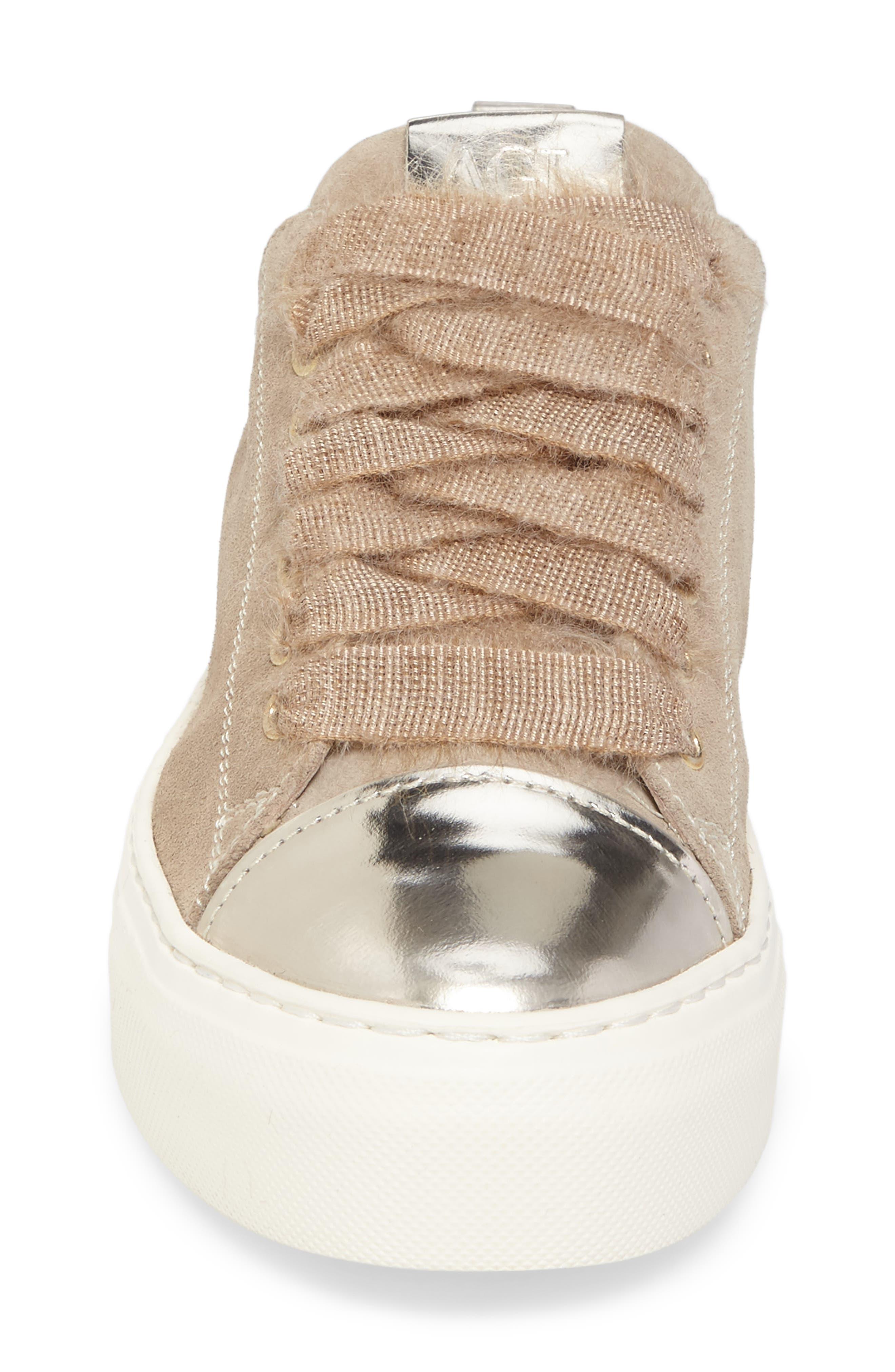Cap Toe Platform Sneaker,                             Alternate thumbnail 12, color,