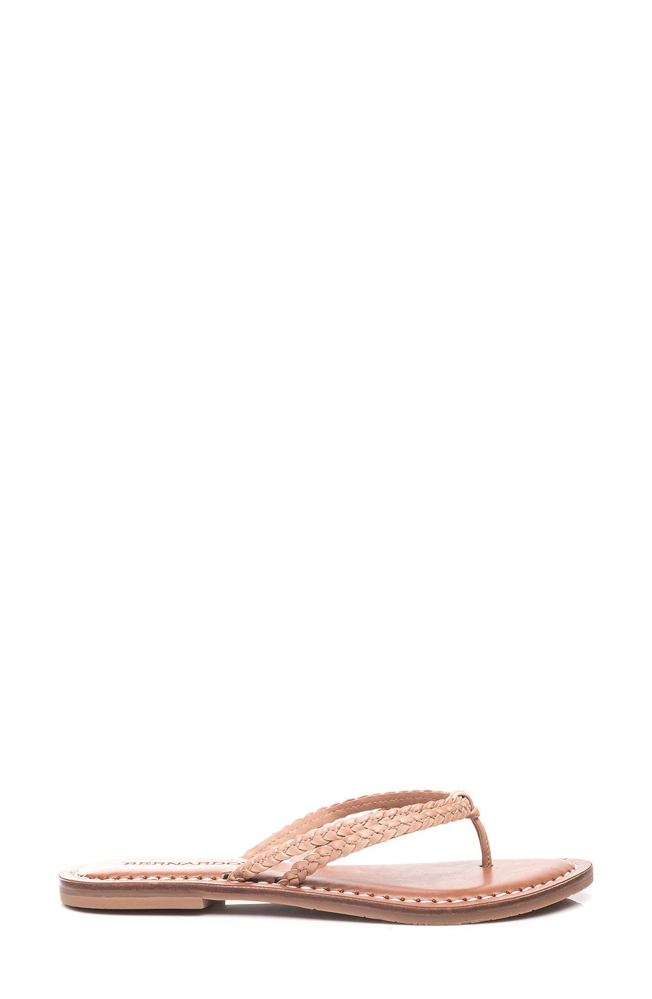 Bernardo Greta Braided Strap Sandal,                             Alternate thumbnail 19, color,