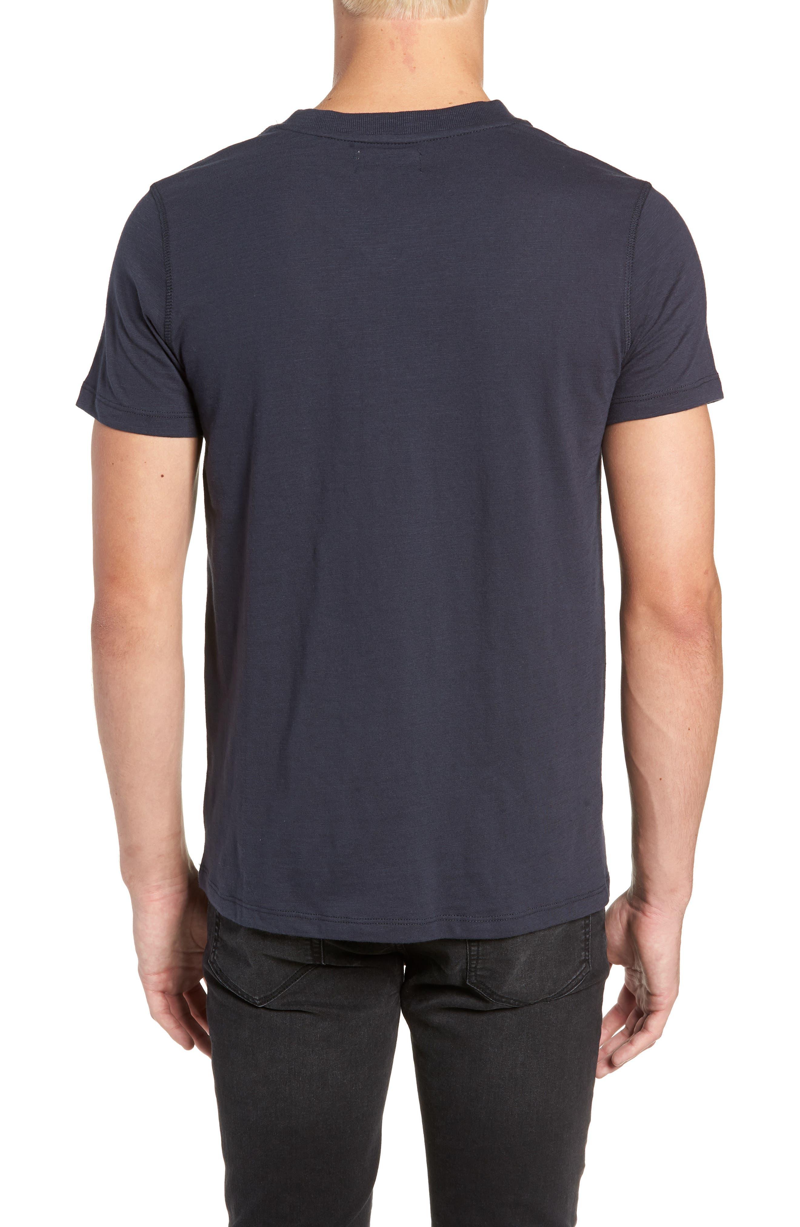 Soccer V-Neck T-Shirt,                             Alternate thumbnail 2, color,                             CARBON