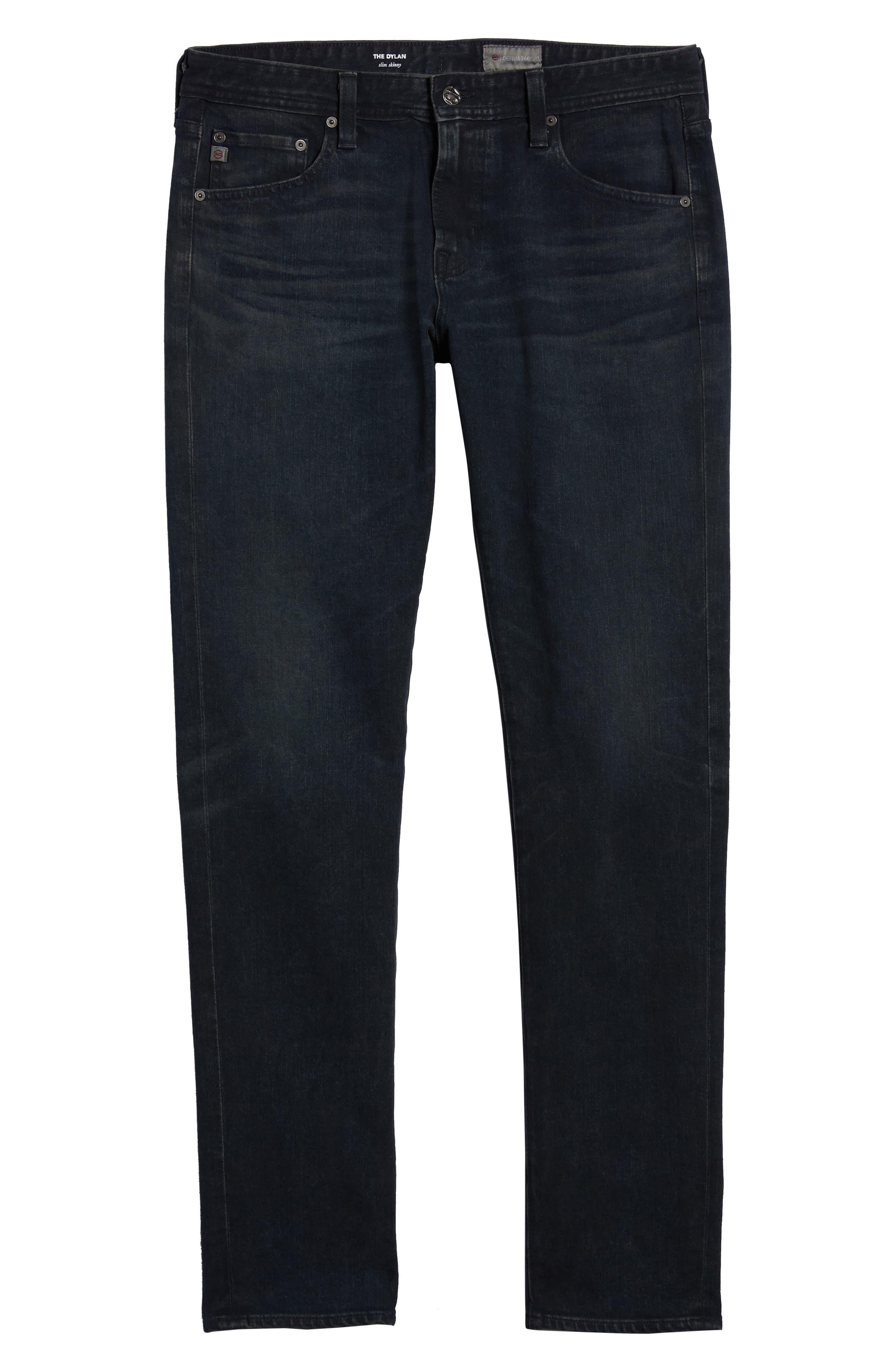 Dylan Skinny Jeans,                             Alternate thumbnail 6, color,                             019