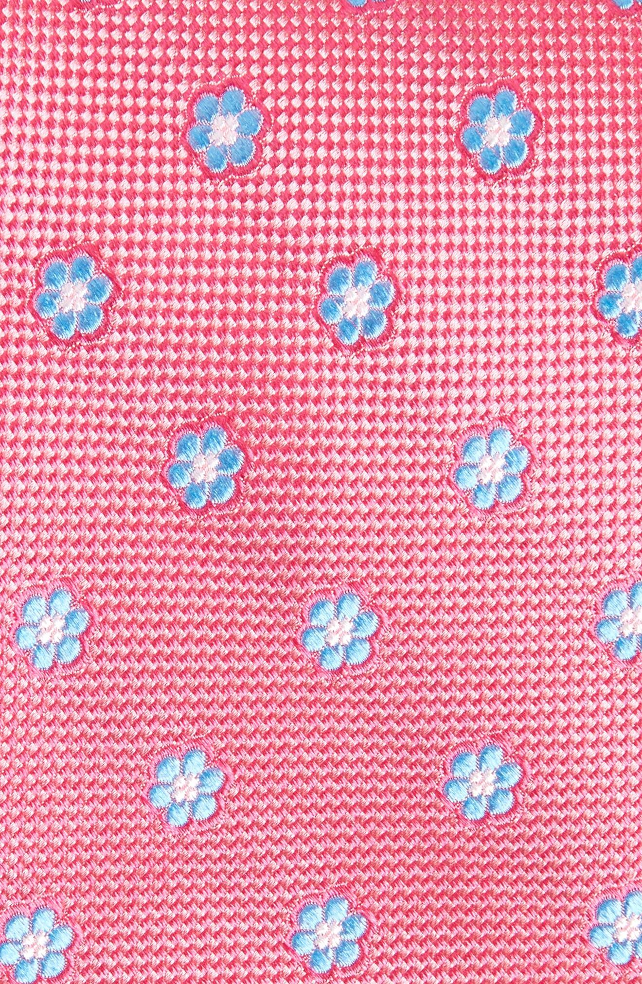 Calibrate Cloisters Neat Silk Tie,                             Alternate thumbnail 15, color,