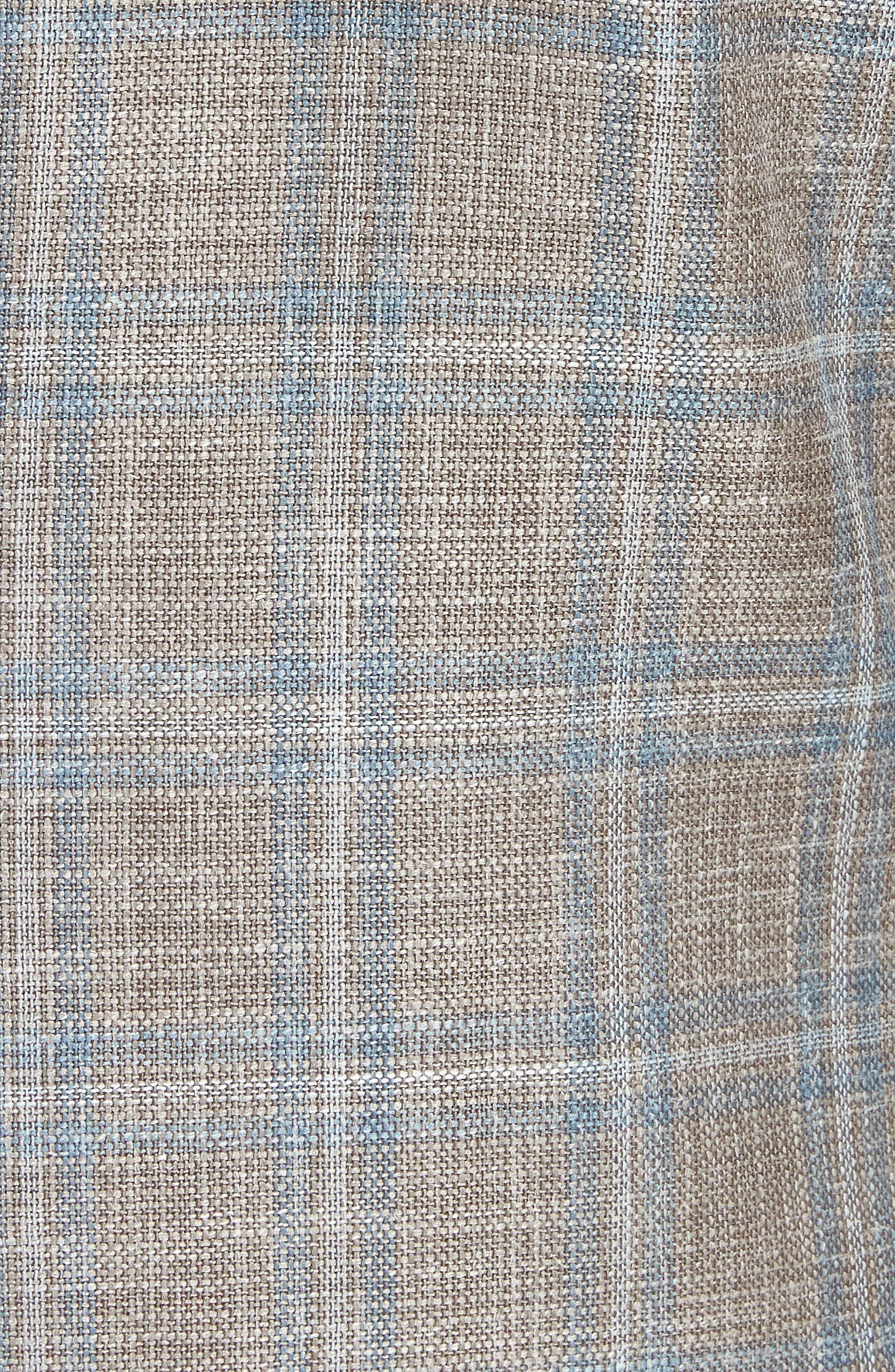 CANALI,                             Kei Classic Fit Windowpane Wool Blend Sport Coat,                             Alternate thumbnail 6, color,                             250