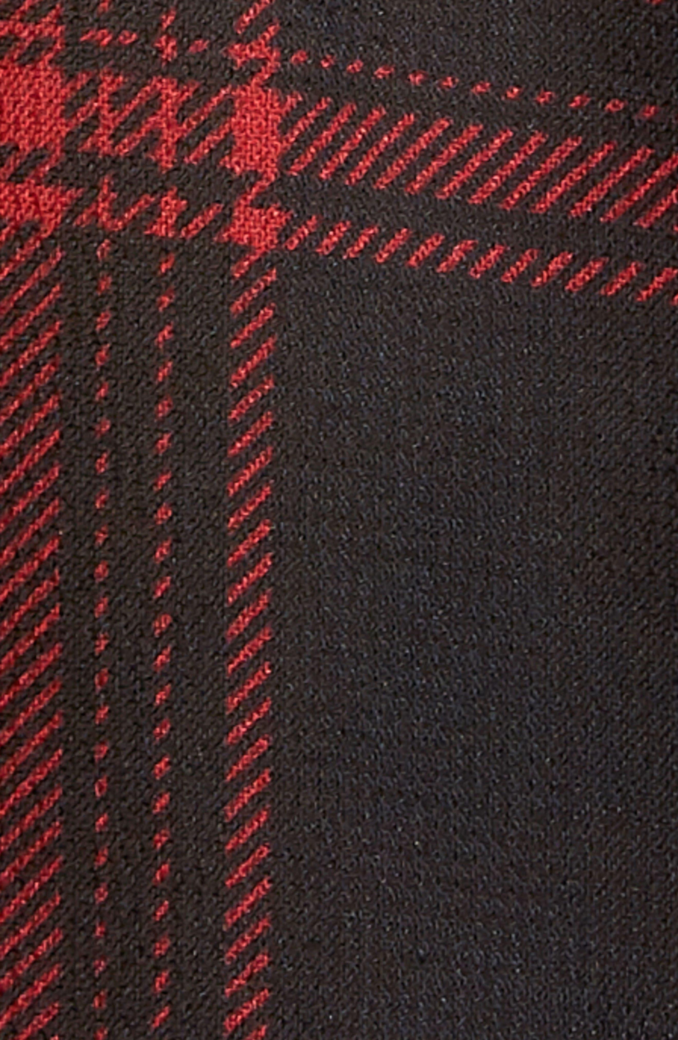Gigi Tie Neck Crop Top,                             Alternate thumbnail 4, color,