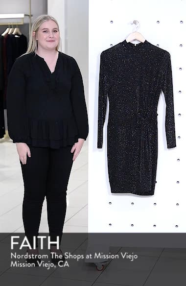 Side Twist Mock Neck Dress, sales video thumbnail