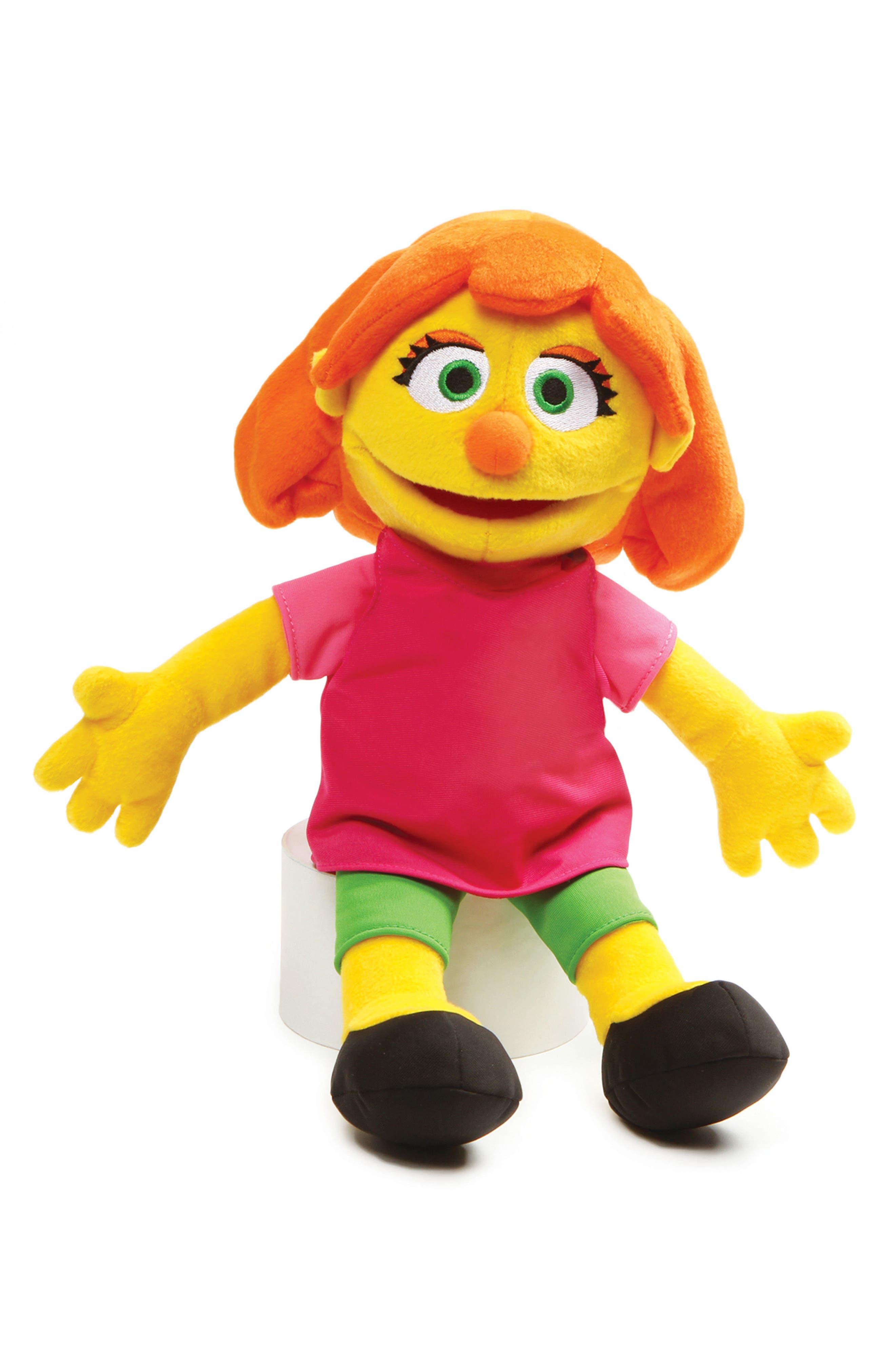 GUND Sesame Street - Julia Stuffed Doll, Main, color, MULTI