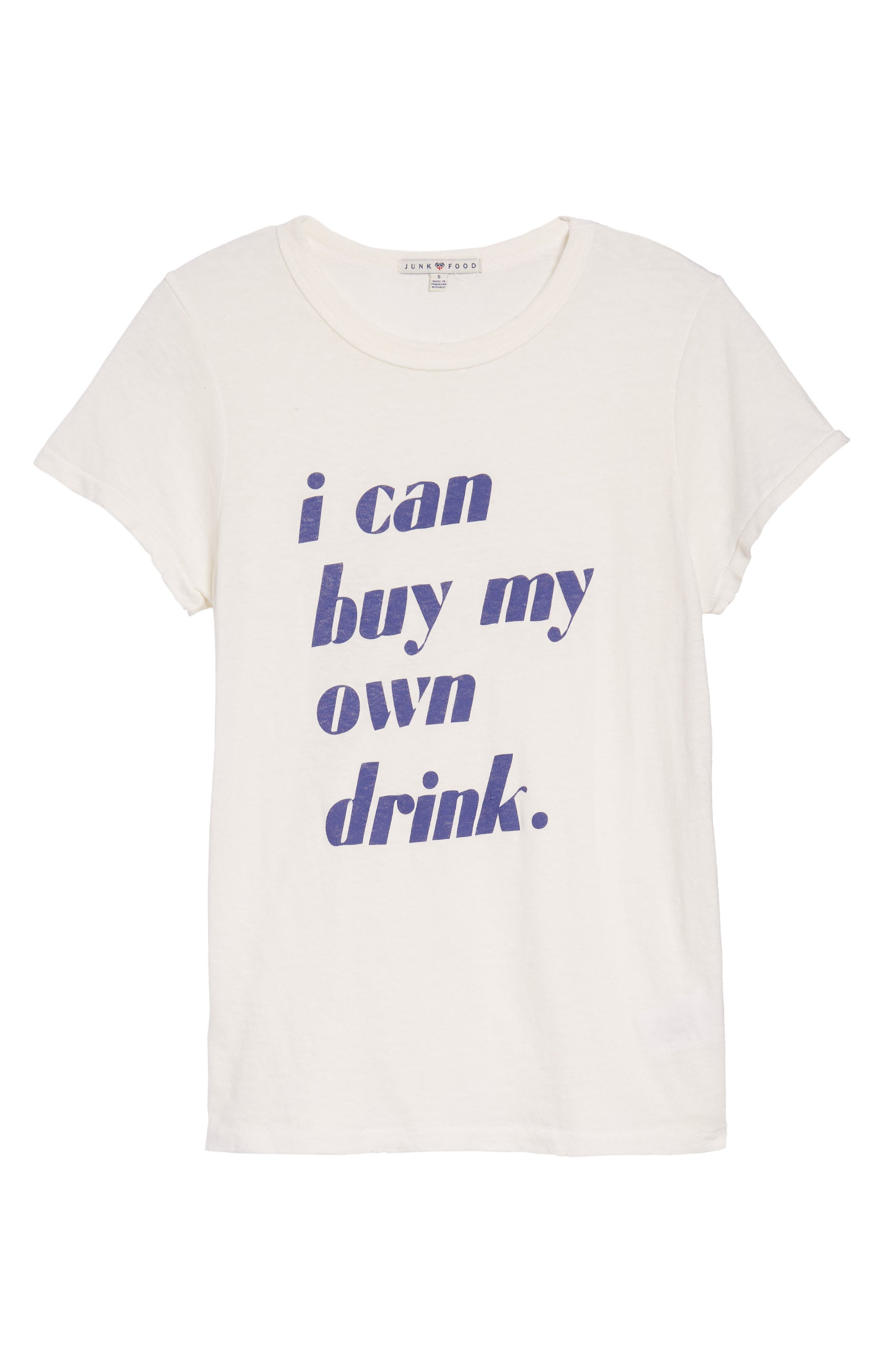 I Can Buy My Own Drink Tee,                             Alternate thumbnail 6, color,                             900