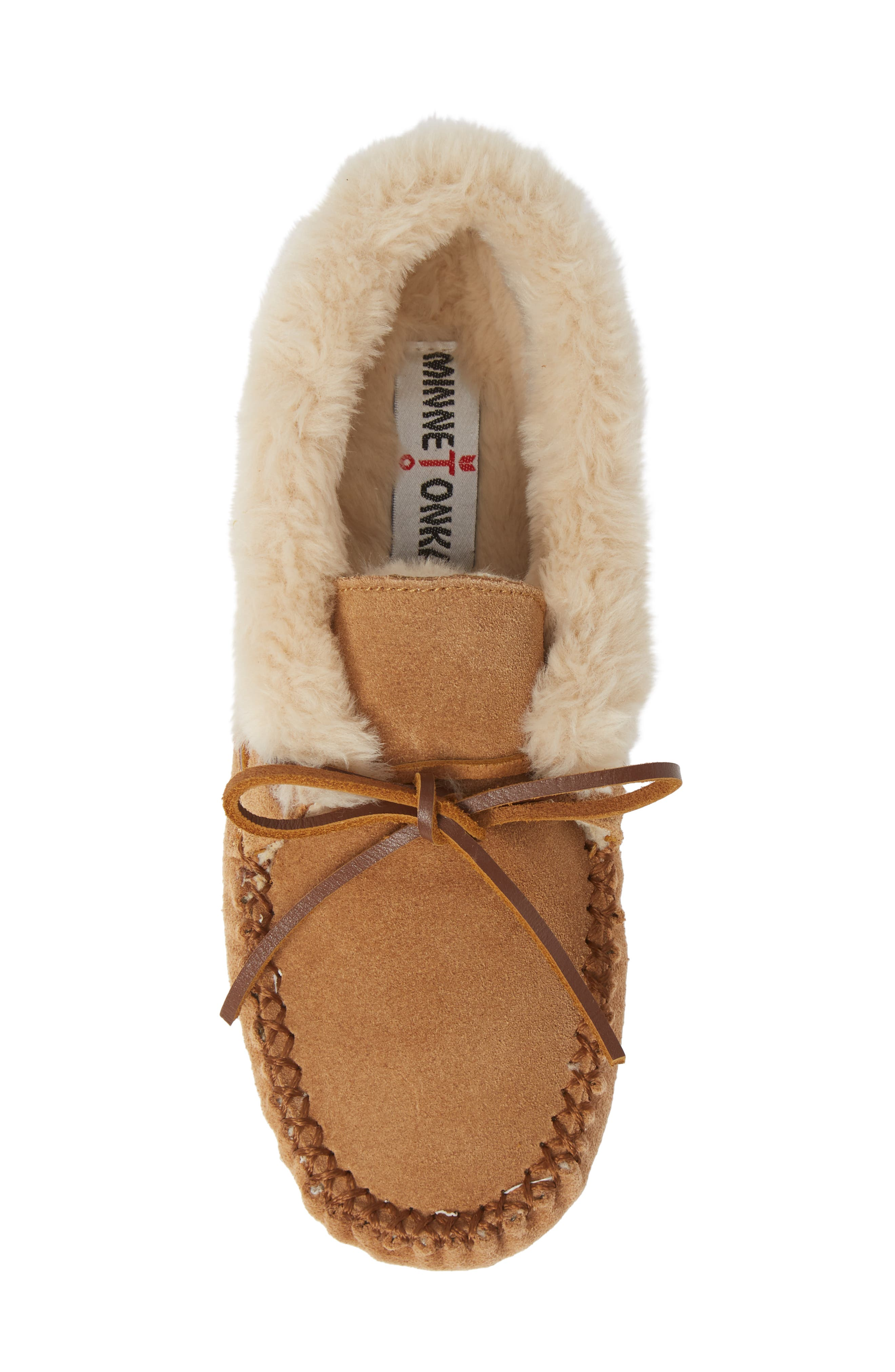 'Chrissy' Slipper Bootie,                             Alternate thumbnail 6, color,                             CINNAMON SUEDE