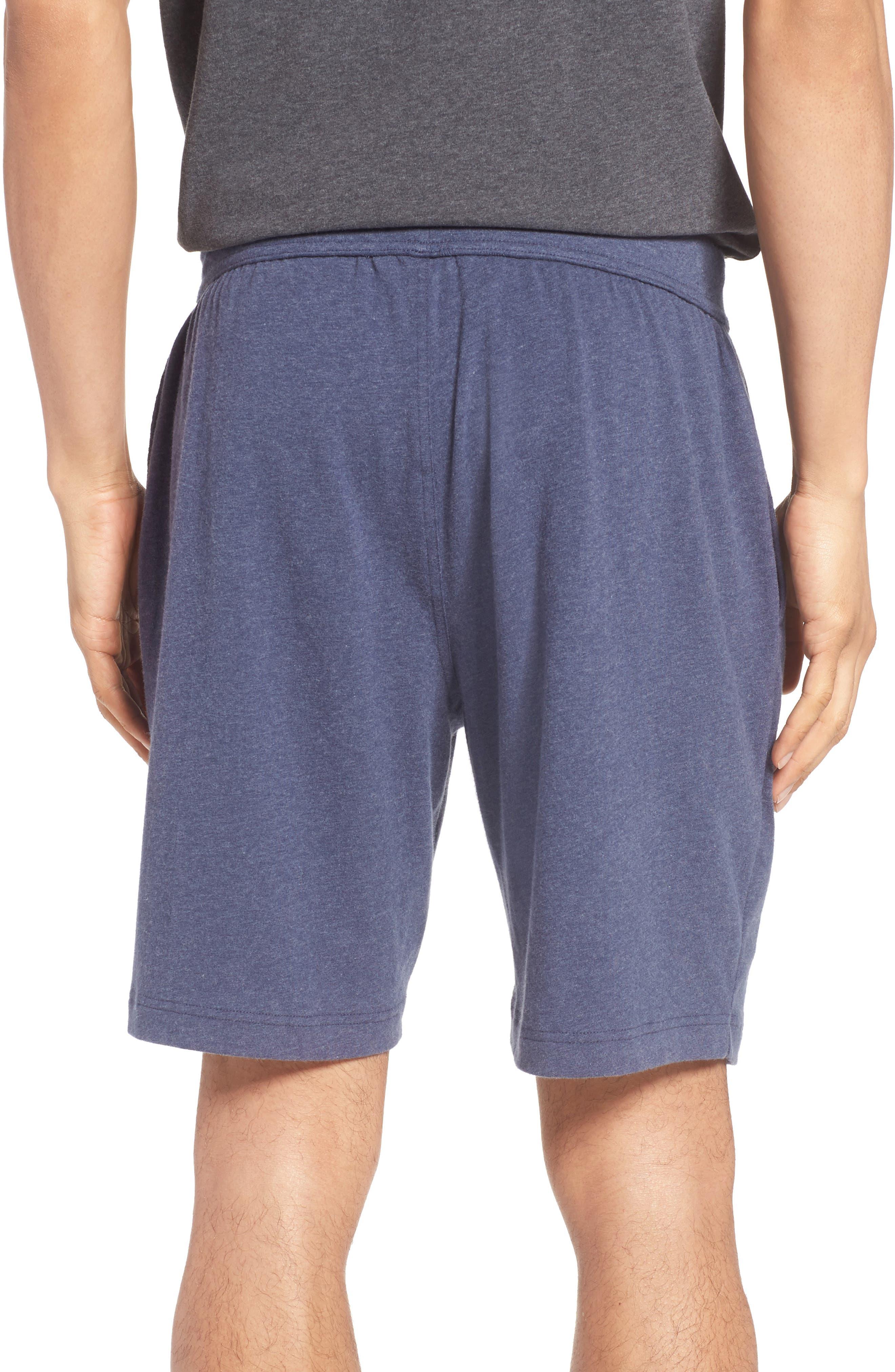 Stretch Cotton Lounge Shorts,                             Alternate thumbnail 4, color,
