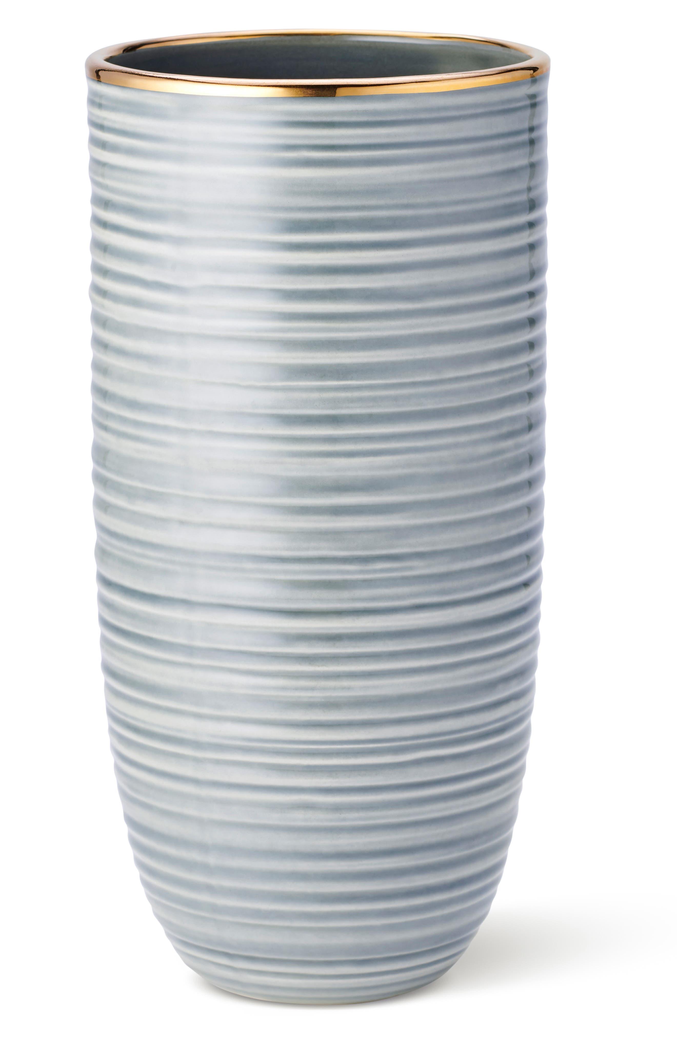 Calinda Tall Vase,                             Main thumbnail 1, color,                             SHADOW