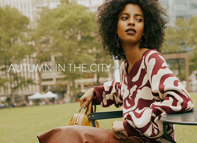 Autumn in the city: fashion trends for fall.
