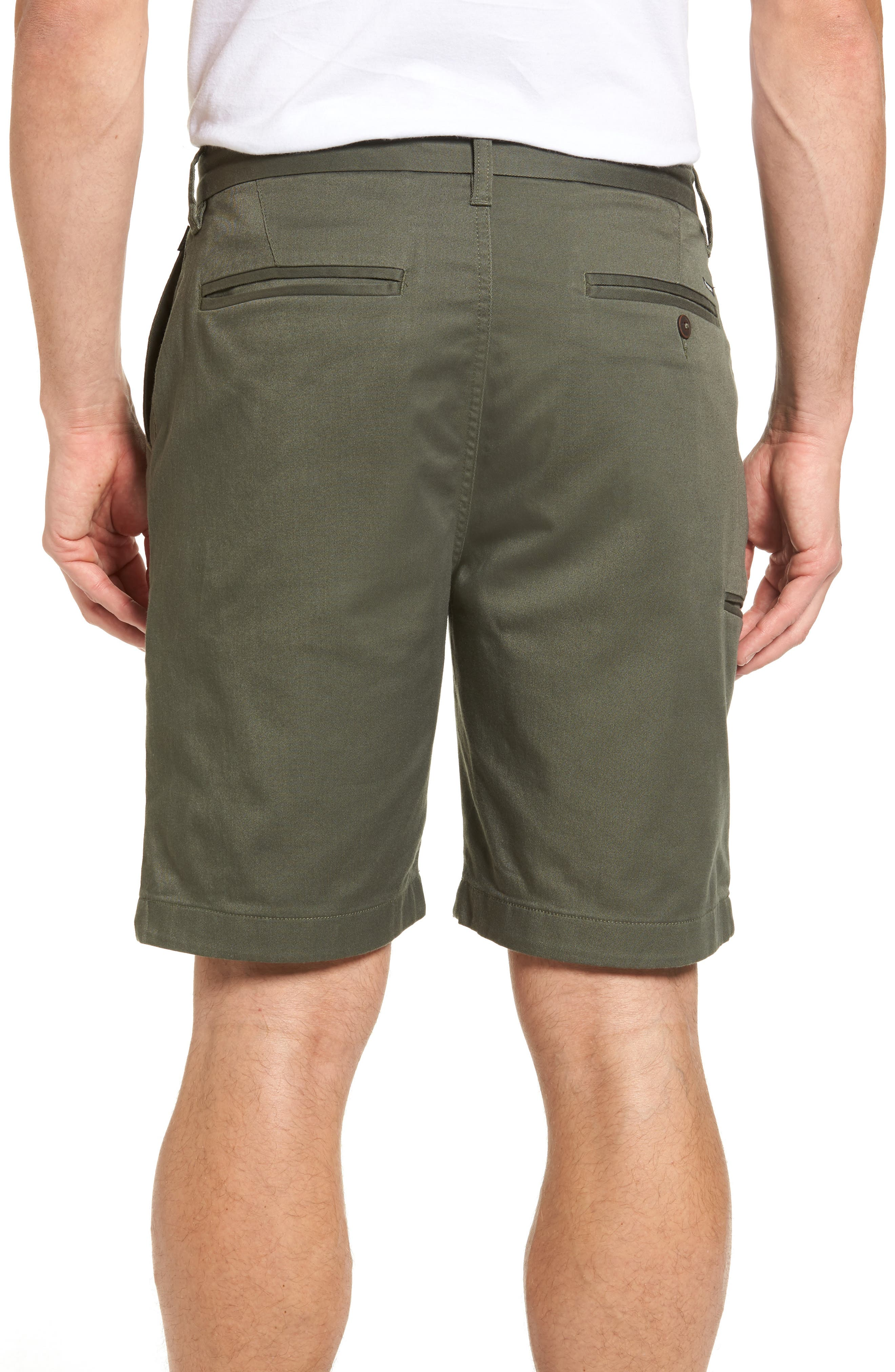 Carter Stretch Twill Shorts,                             Alternate thumbnail 7, color,