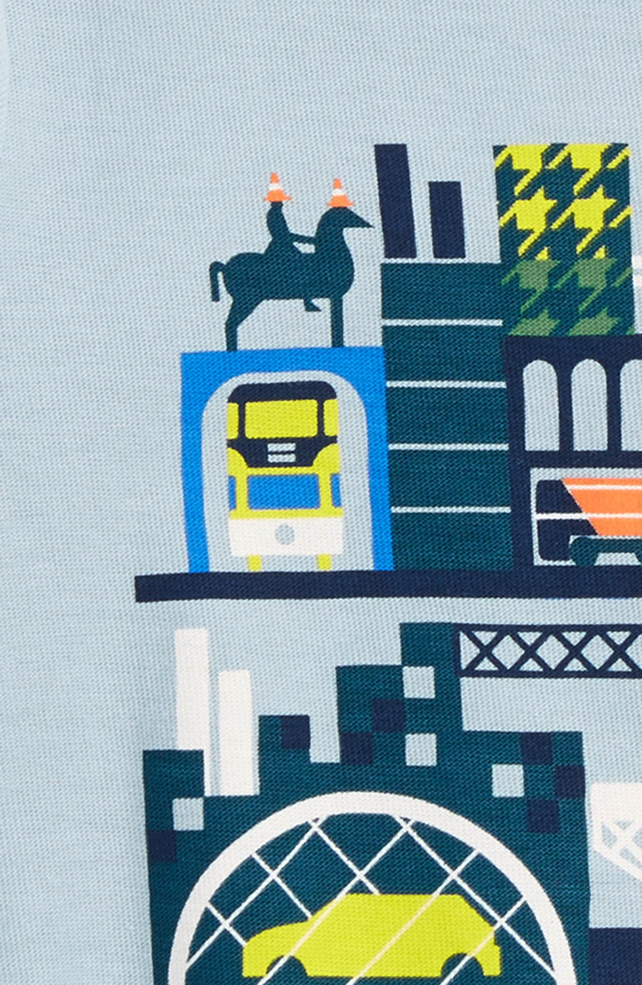 Glasgow Tour Graphic T-Shirt,                             Alternate thumbnail 2, color,                             069