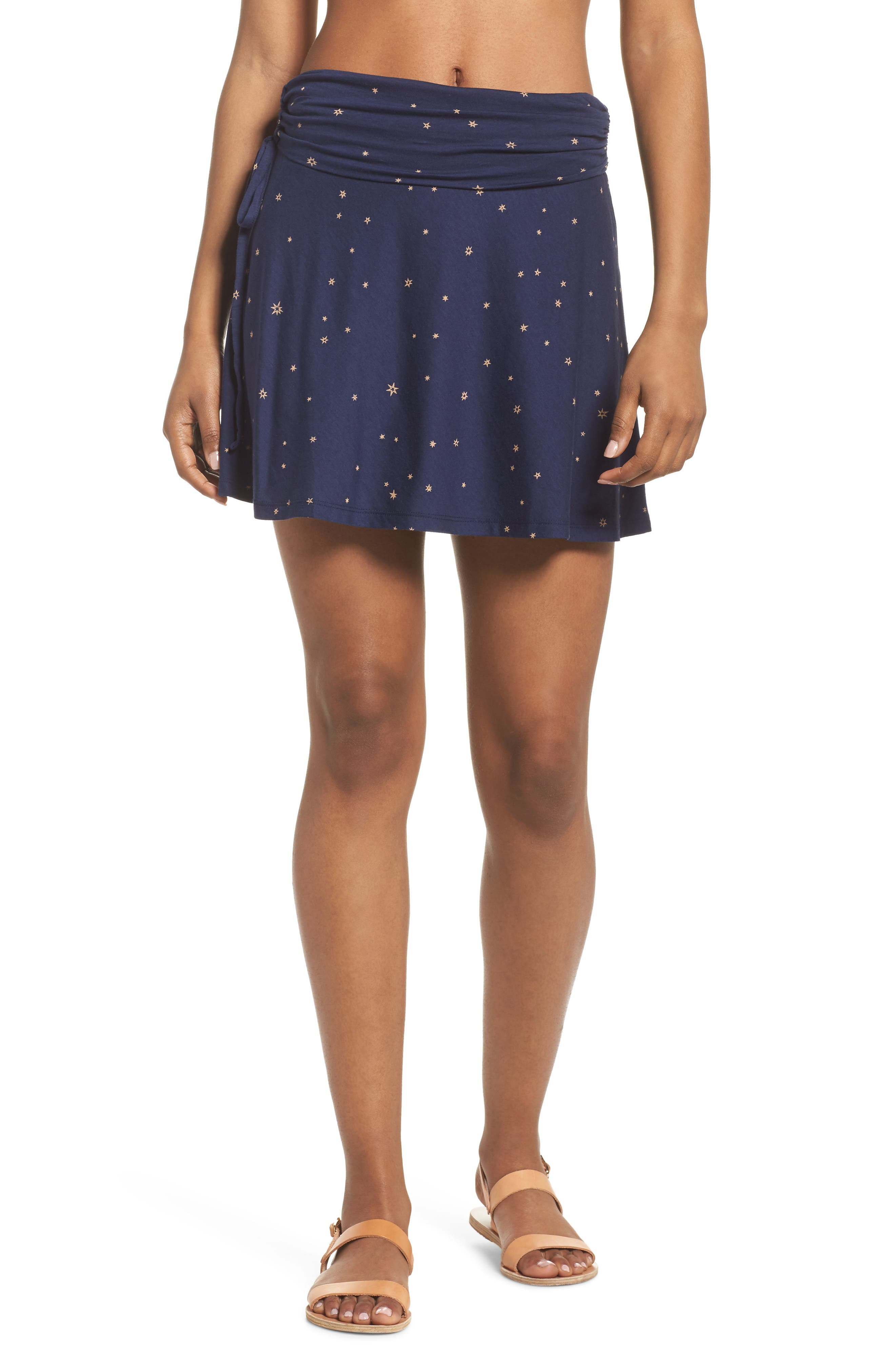 Lithia Cotton Blend Skirt,                         Main,                         color, 413