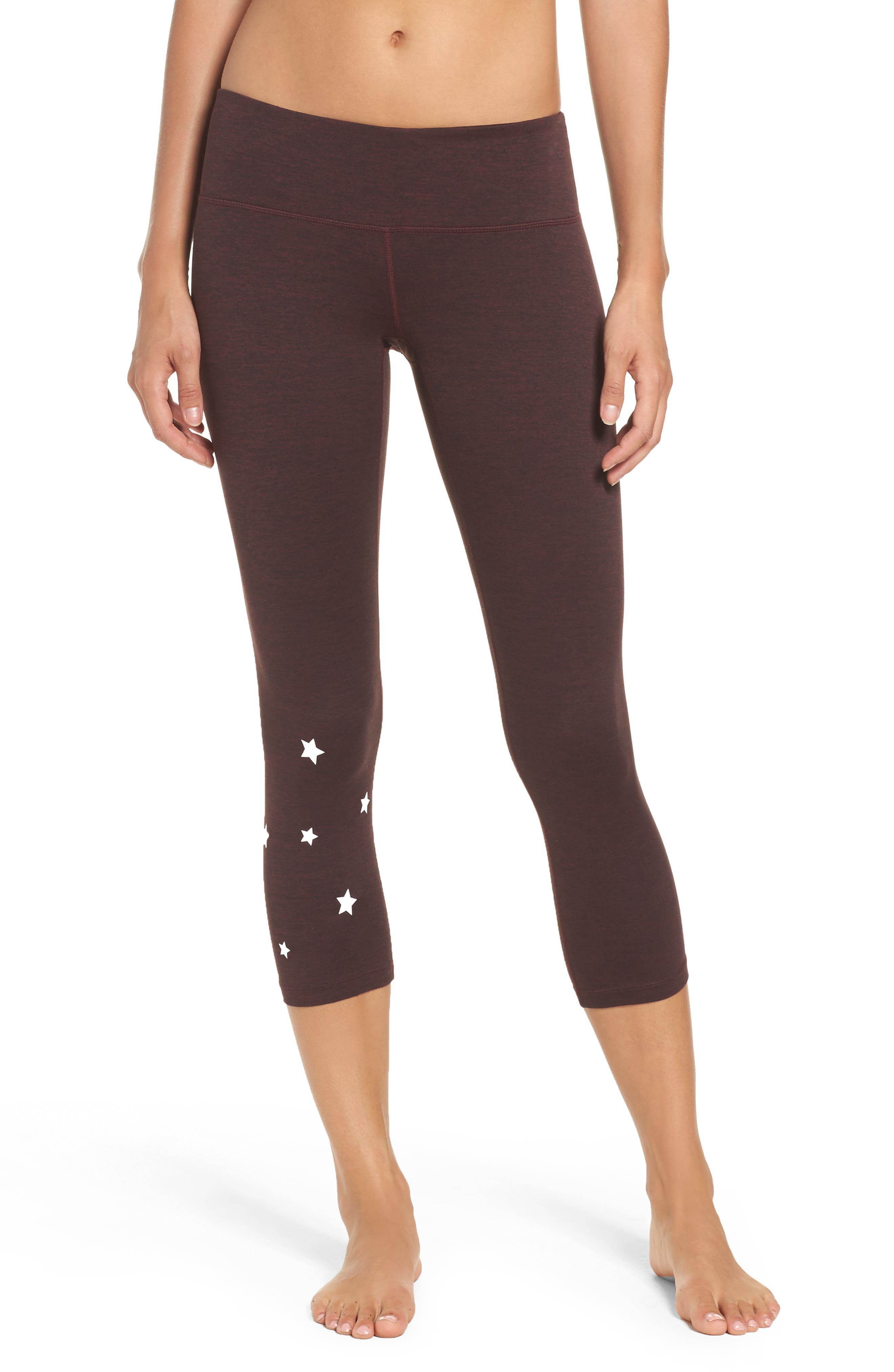 Stars Power Crop Leggings,                             Main thumbnail 1, color,                             602