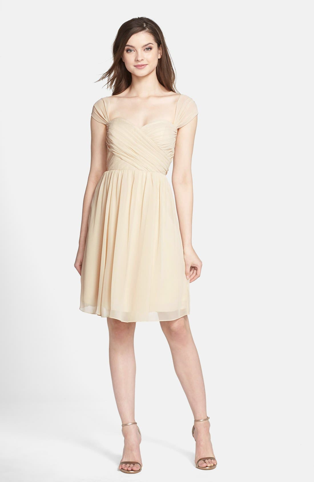 Riley Convertible Chiffon Dress,                             Main thumbnail 1, color,                             274