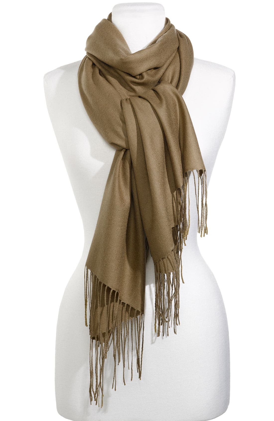 Tissue Weight Wool & Cashmere Wrap,                             Main thumbnail 3, color,