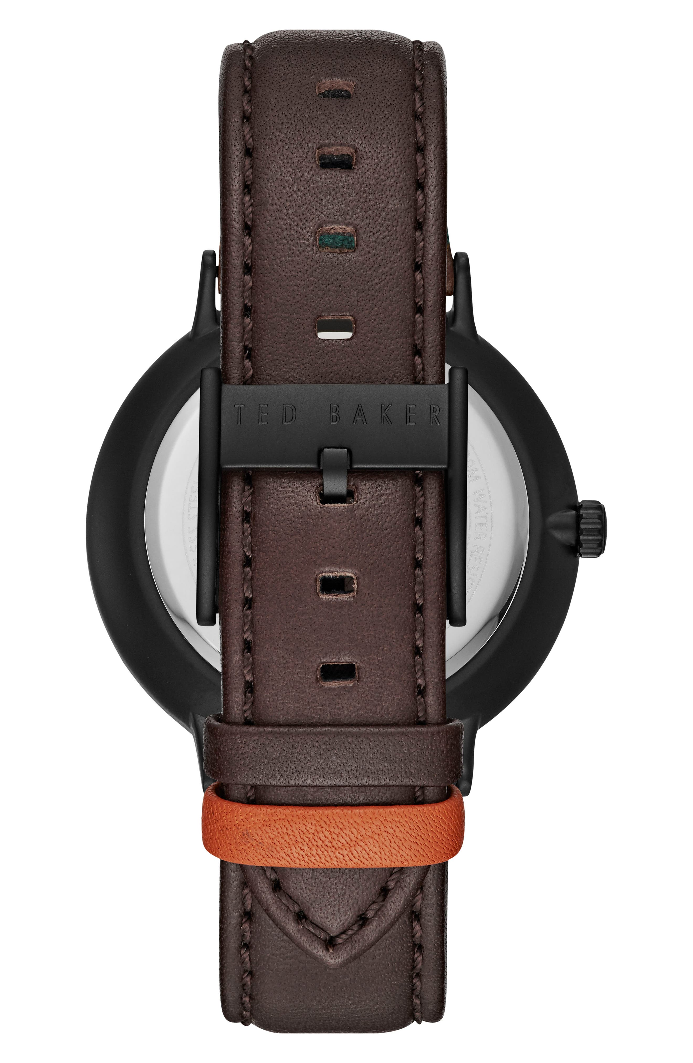 Harris Leather Strap Watch, 42mm,                             Alternate thumbnail 2, color,                             202