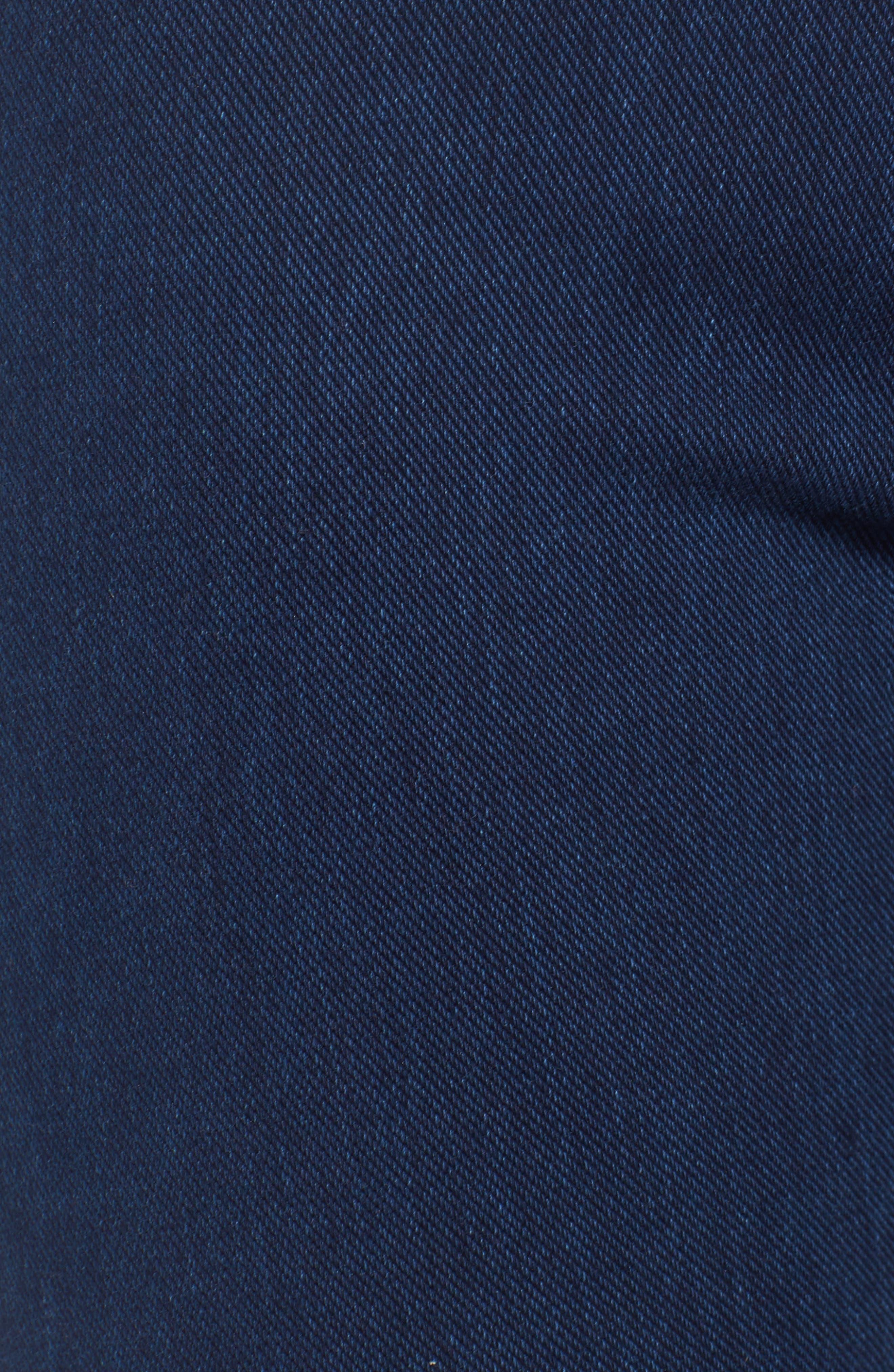 Joie Embellished High Waist Skinny Jeans,                             Alternate thumbnail 5, color,                             401