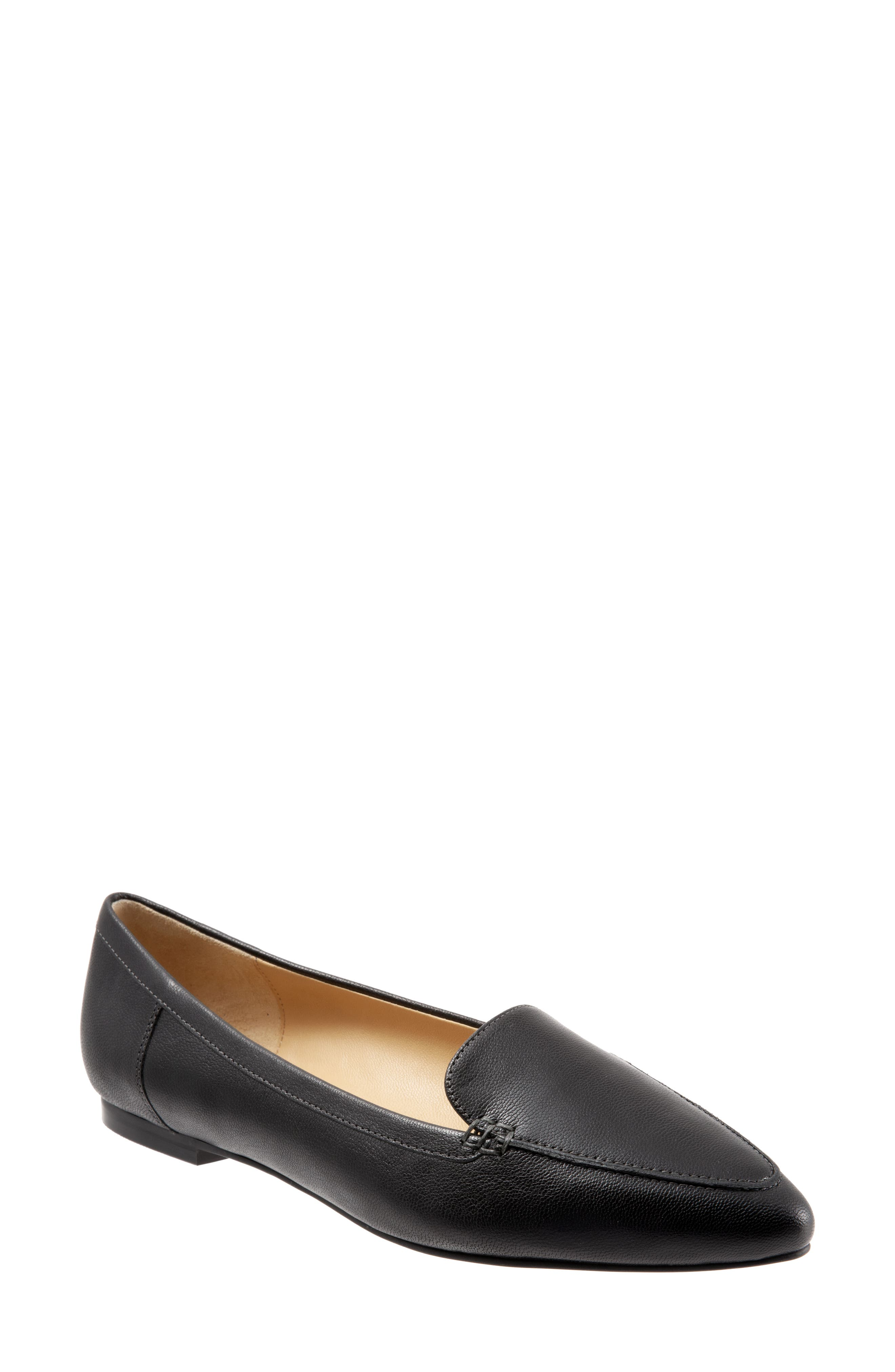 Ember Flat,                             Main thumbnail 1, color,                             BLACK LEATHER