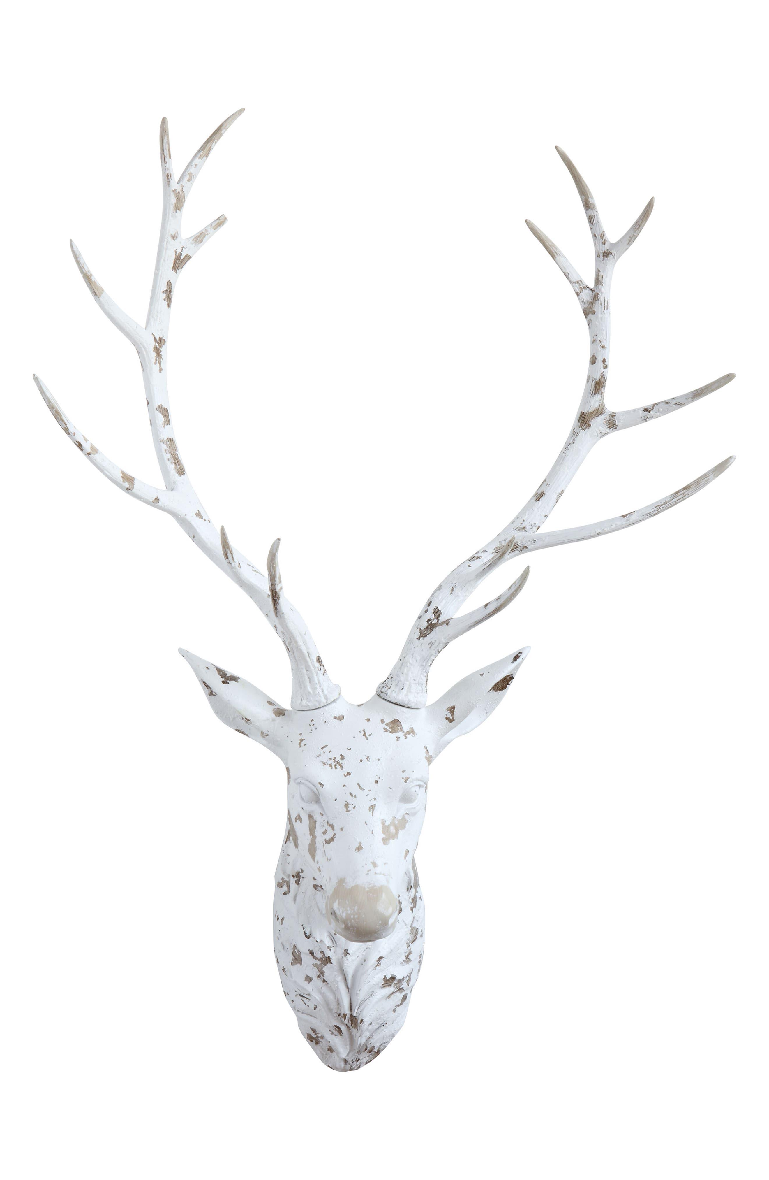 CREATIVE CO-OP,                             Deer Head Wall Decoration,                             Main thumbnail 1, color,                             100