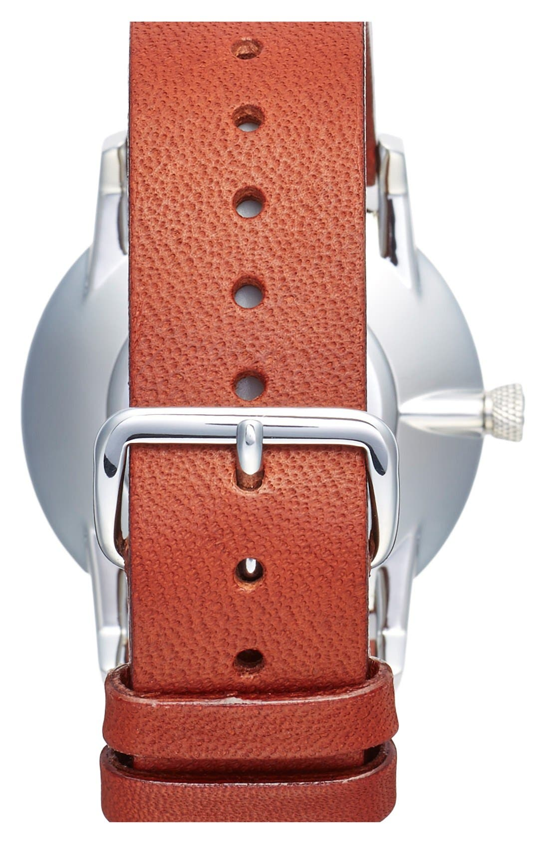 Rose Falken Organic Leather Strap Watch, 38mm,                             Alternate thumbnail 10, color,