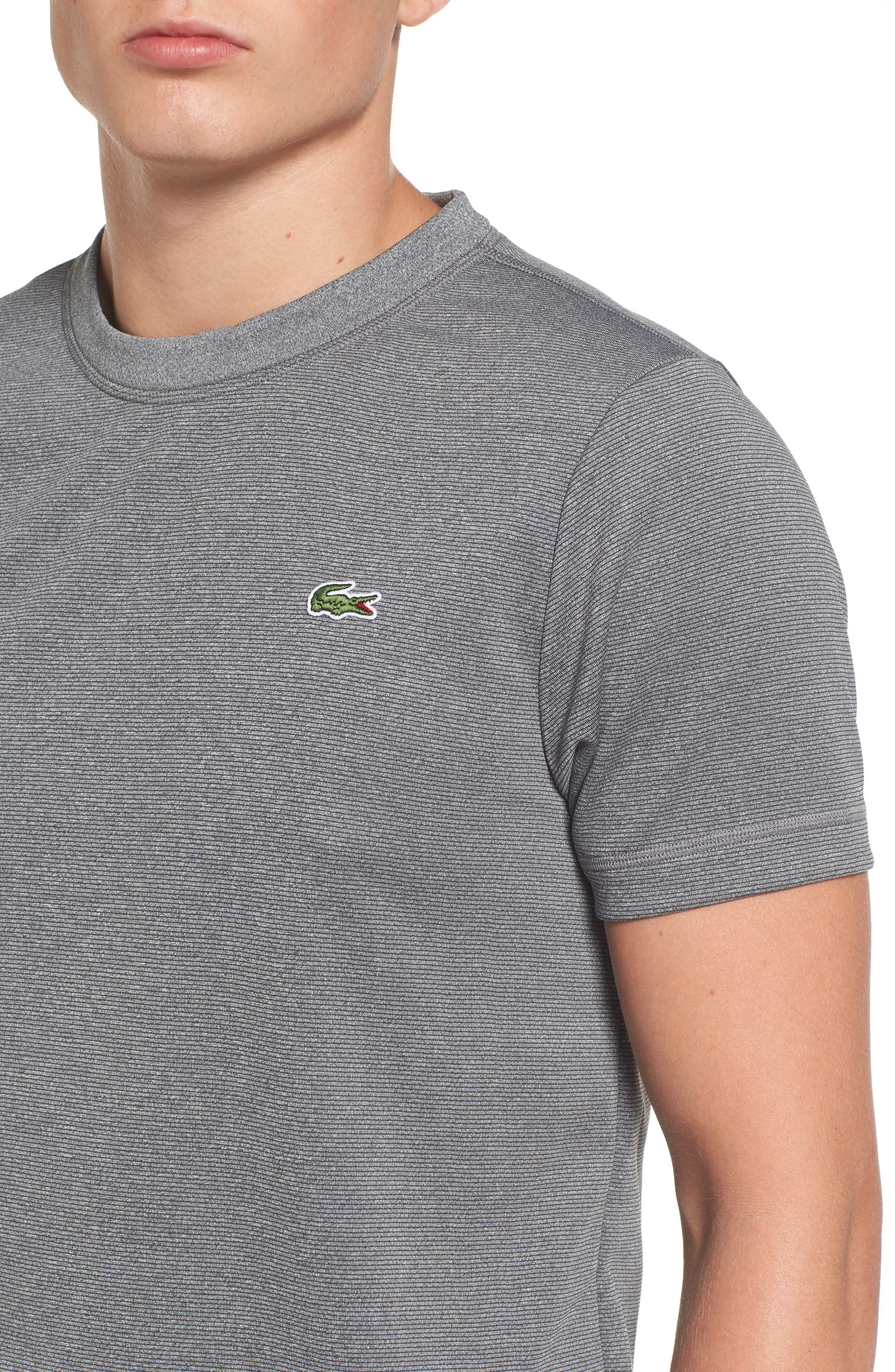 Pinstripe Grommet T-Shirt,                             Alternate thumbnail 4, color,                             020