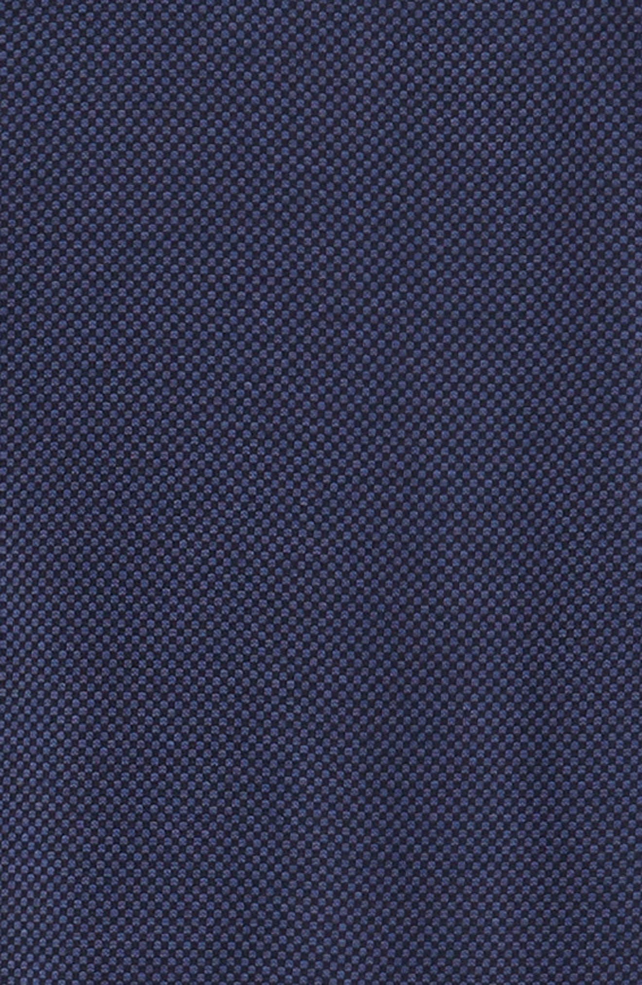 STONE ROSE,                             Trim Fit Knit Sport Shirt,                             Alternate thumbnail 6, color,                             410