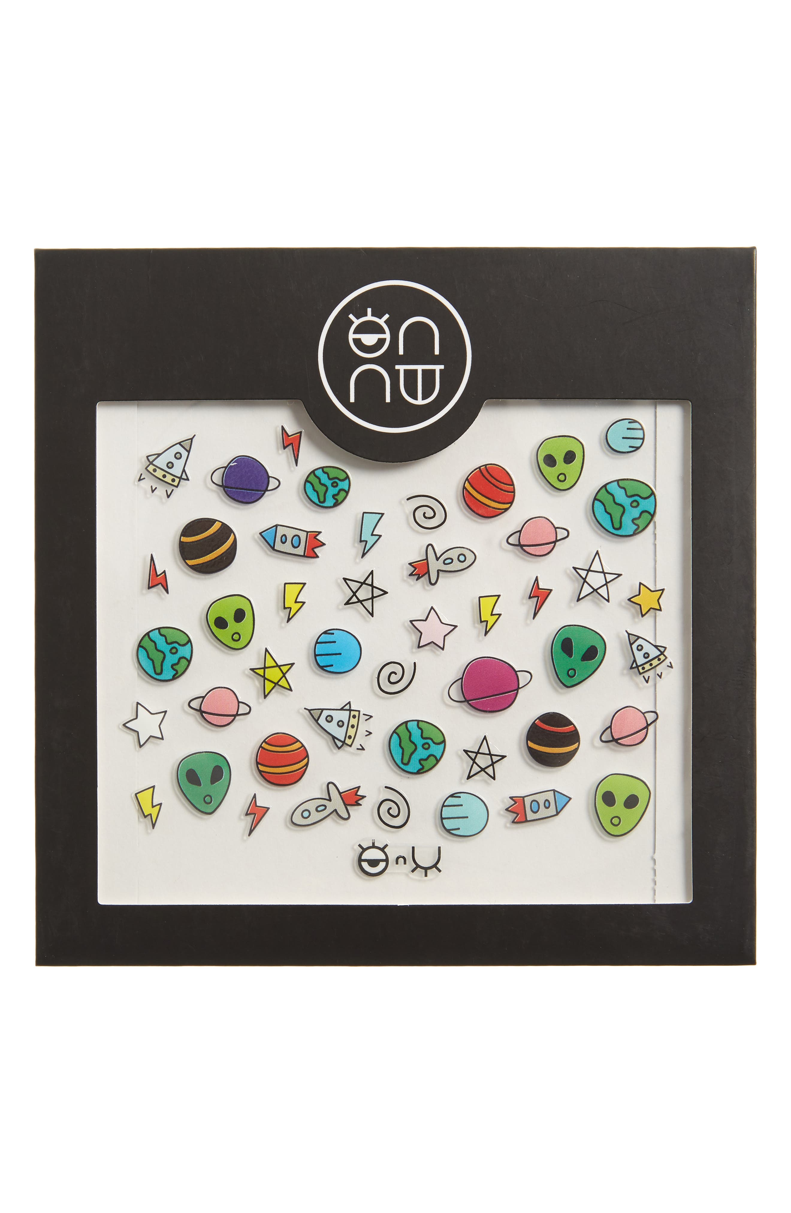 ONNU,                             Space Nail Stickers,                             Main thumbnail 1, color,                             000