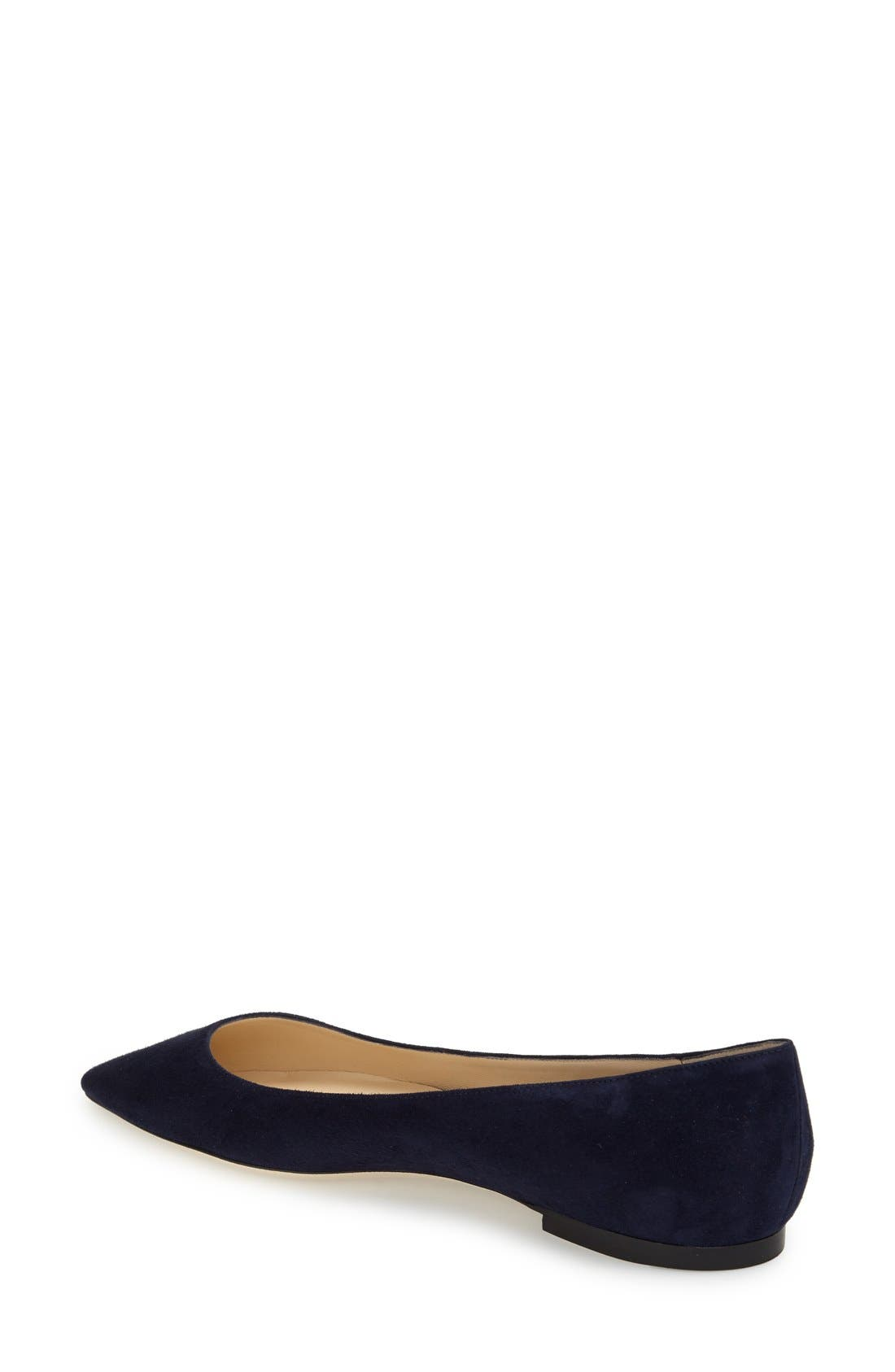 'Romy' Pointy Toe Flat,                             Alternate thumbnail 33, color,